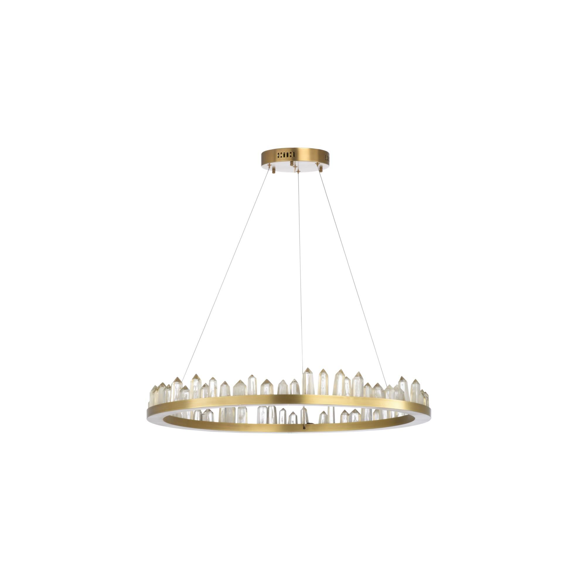 Chelsea House Jones 31 Inch 1 Light Led Chandelier Jones - 69622 - Modern Contemporary Chandelier