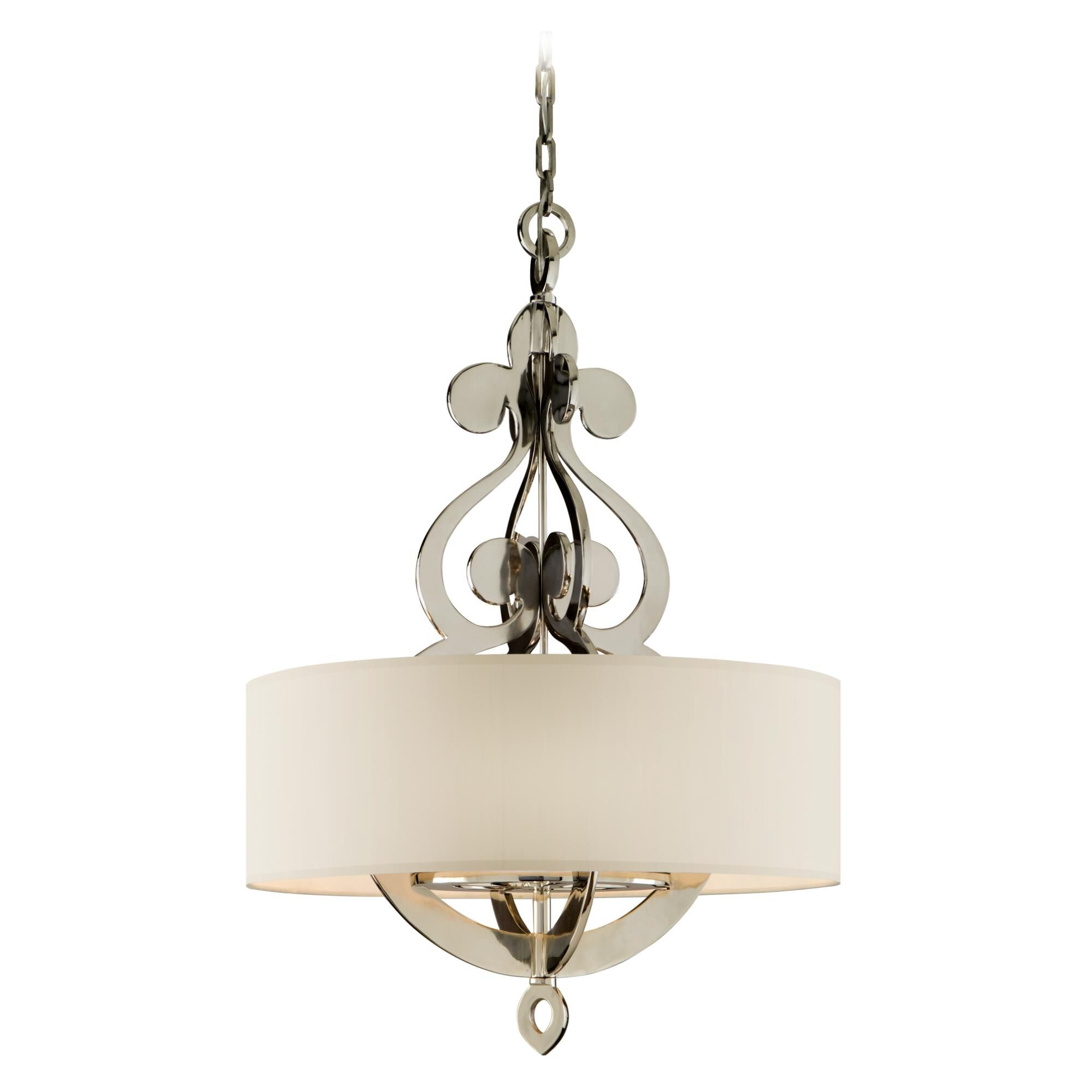 Corbett Lighting Olivia 13 Inch Mini Pendant Olivia - 102-48 - Transitional Mini Pendant