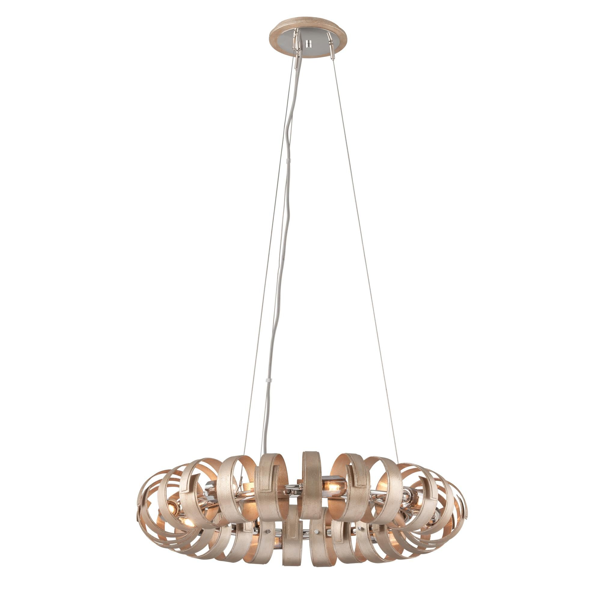 Corbett Lighting Recoil 28 Inch Large Pendant Recoil - 191-48 - Modern Contemporary Large Pendant