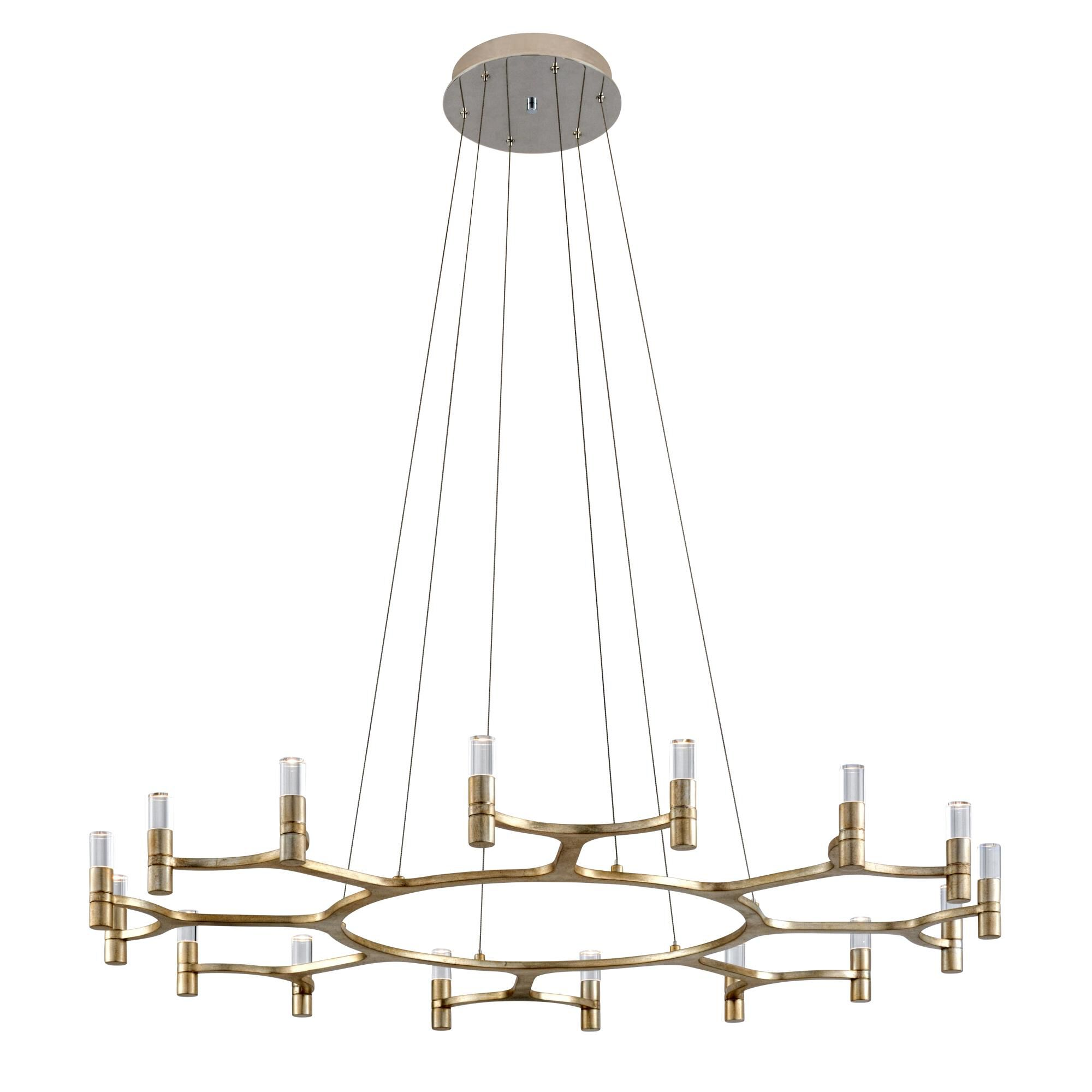 Corbett Lighting Nexus 16 Light Led Mini Chandelier Nexus - 258-016 - Modern Contemporary Mini Chandelier