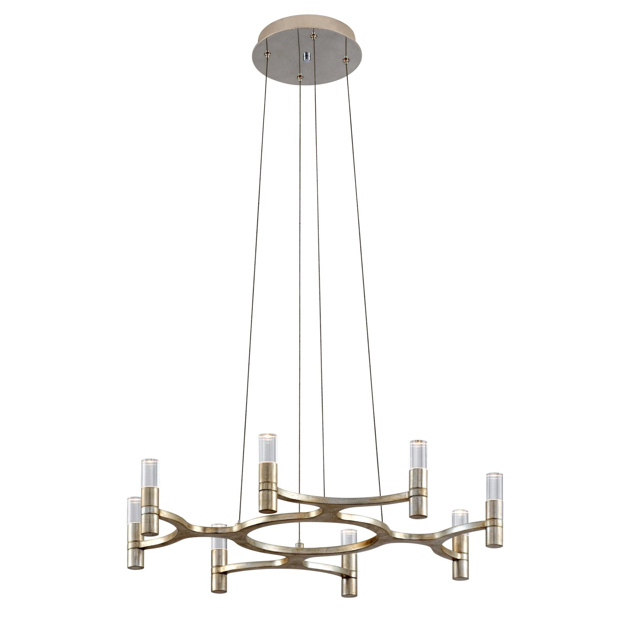 Corbett Lighting Nexus 8 Light Led Mini Chandelier Nexus - 258-08 - Modern Contemporary Mini Chandelier