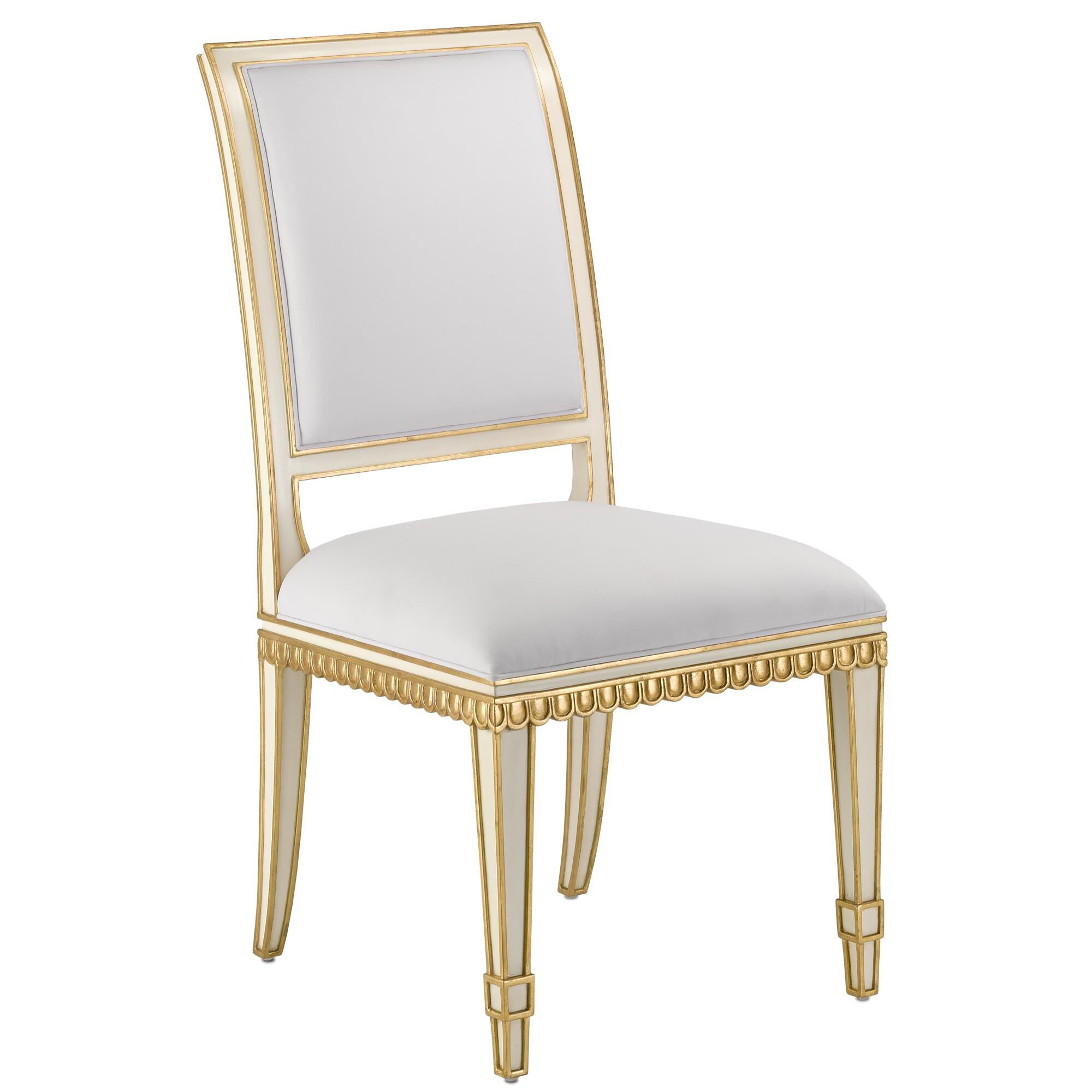 Currey and Company Ines Dining Chair Ines - 7000-0151 - Traditional