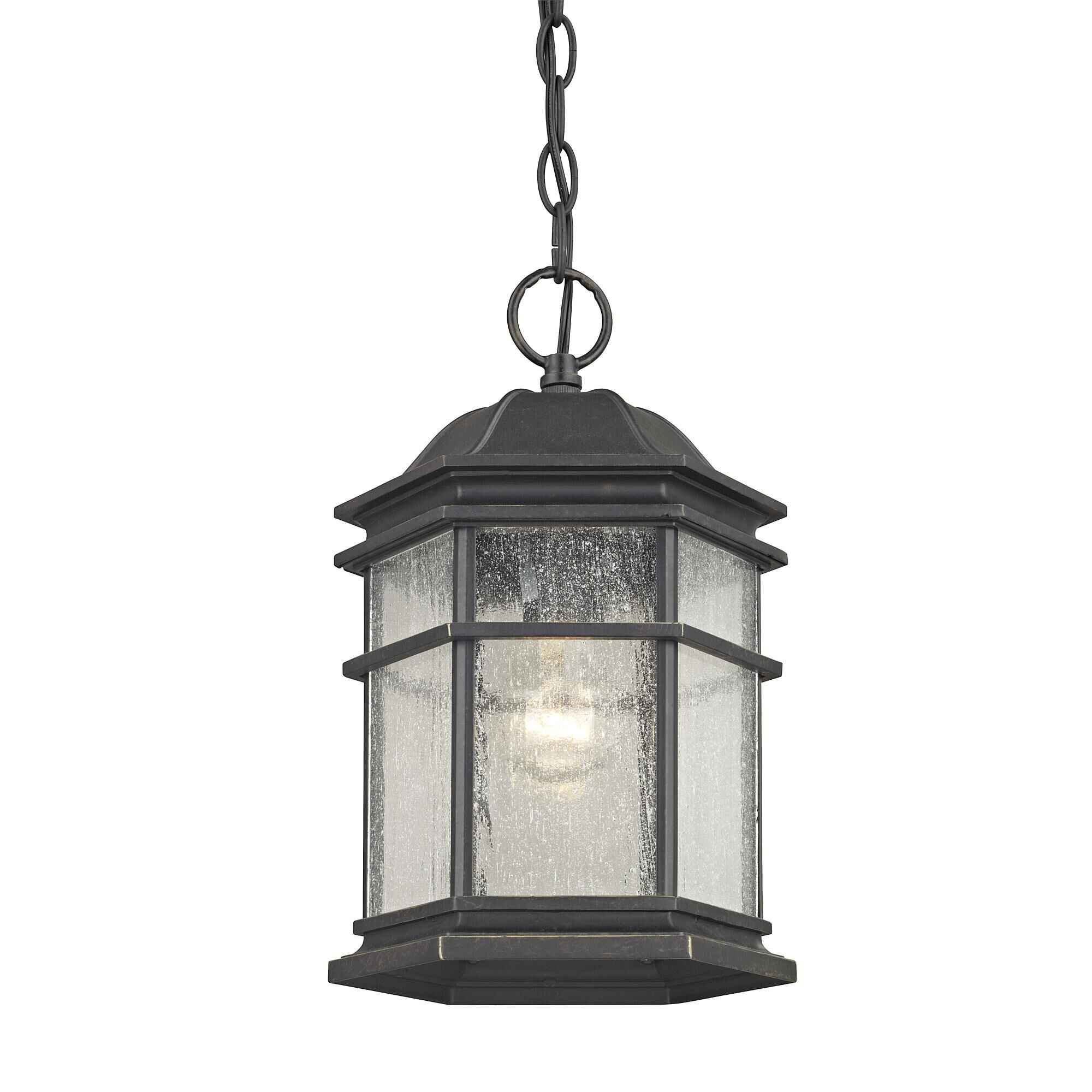 Dolan Designs Barlow 12 Inch Tall 1 Light Outdoor Hanging Lantern Barlow - 9232-68 - Traditional