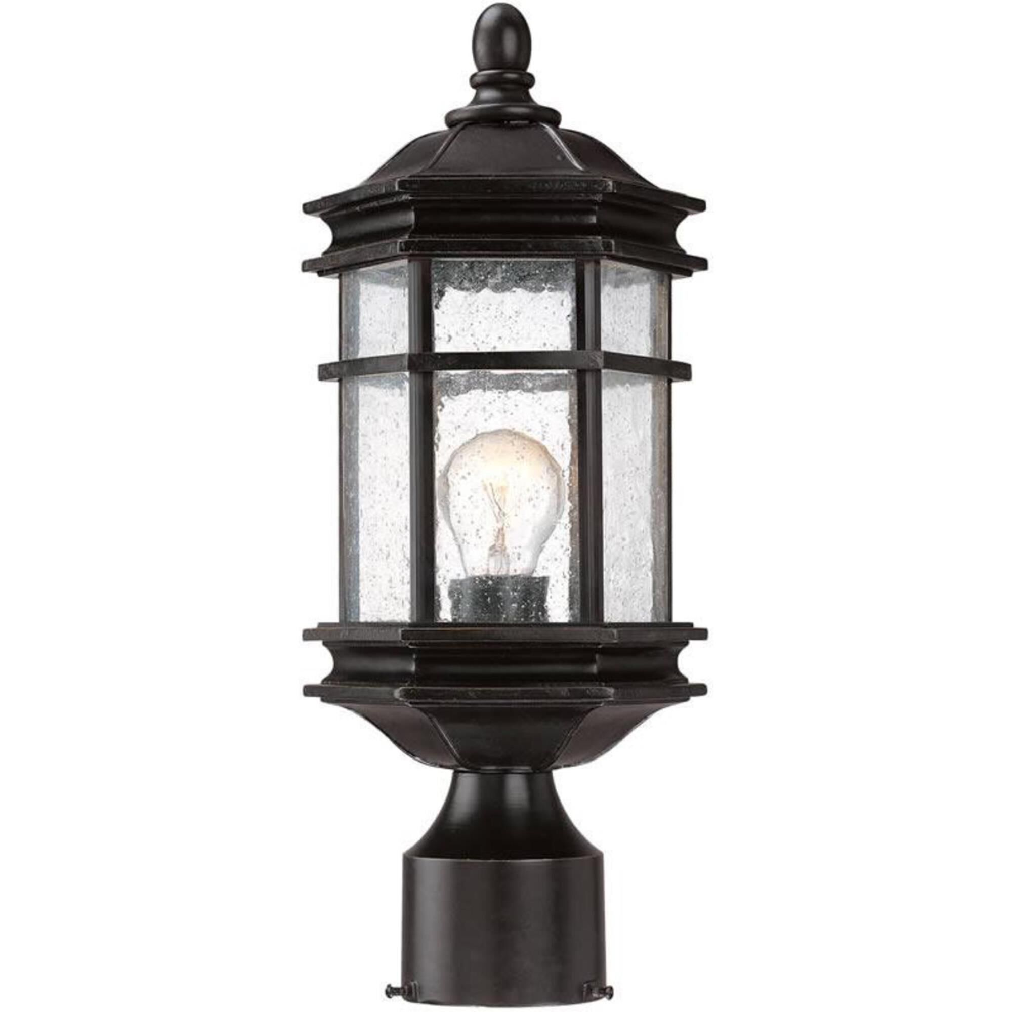 Dolan Designs Barlow 15 Inch Tall 1 Light Outdoor Post Lamp Barlow - 9233-68 - Traditional