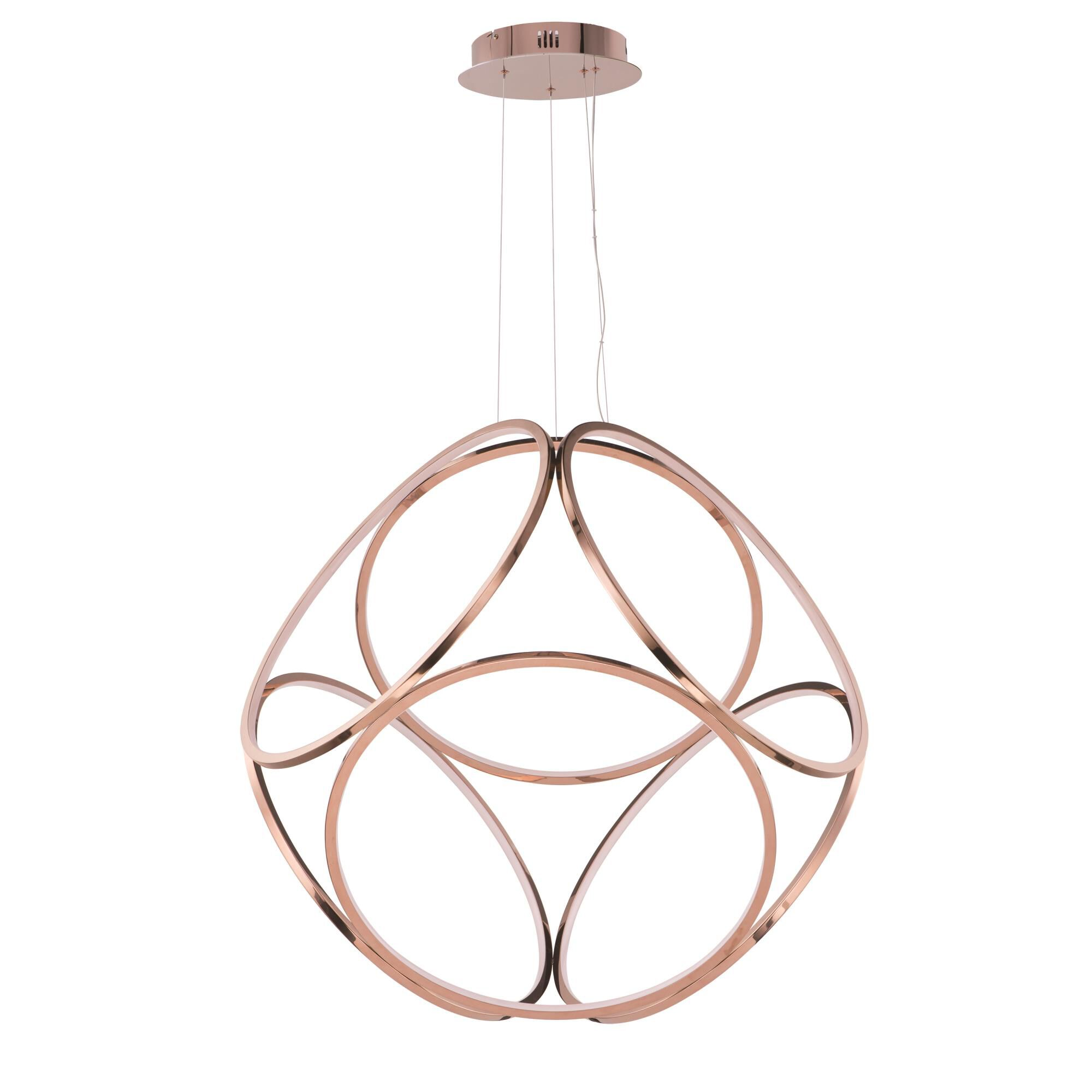 ET2 Lighting Form 34 Inch Large Pendant Form - E22126-RG - Modern Contemporary Large Pendant