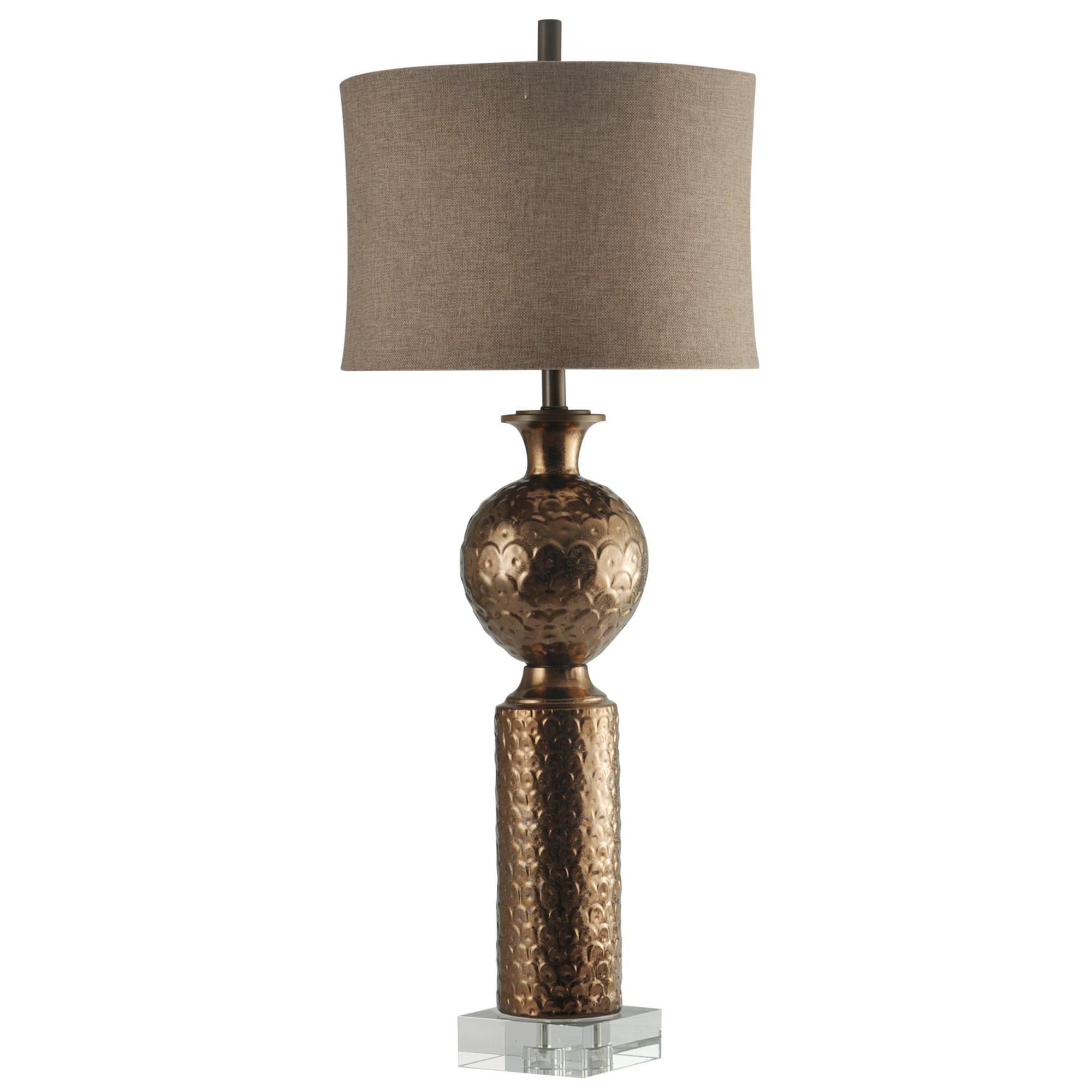 Harp and Finial Catalina 42 Inch Table Lamp Catalina - HFL313657DS - Traditional