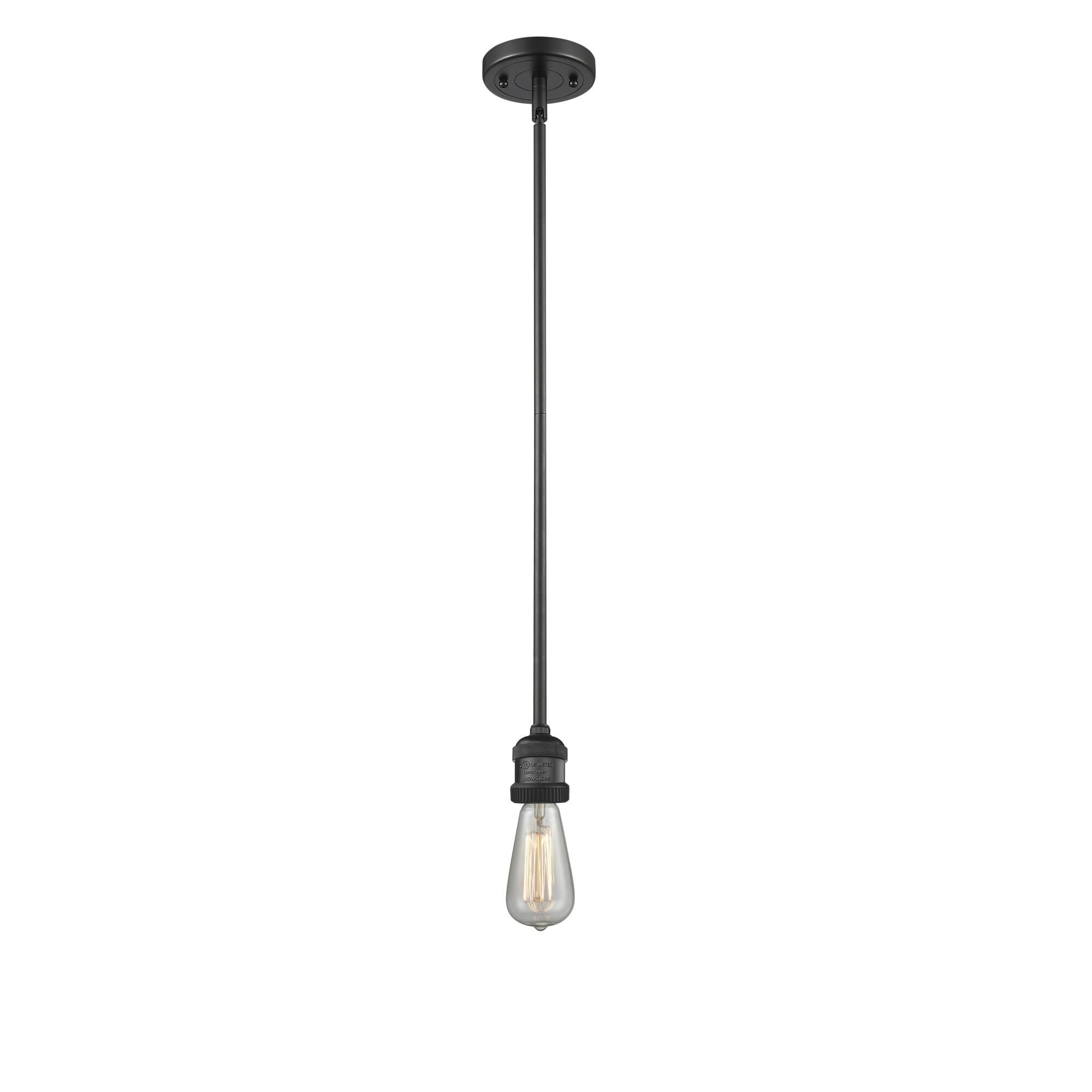 Innovations Lighting Bruno Marashlian Bare Bulb 2 Inch LED Mini Pendant Bare Bulb - 200NH-S-BK-LED - Restoration-Vintage Mini Pendant