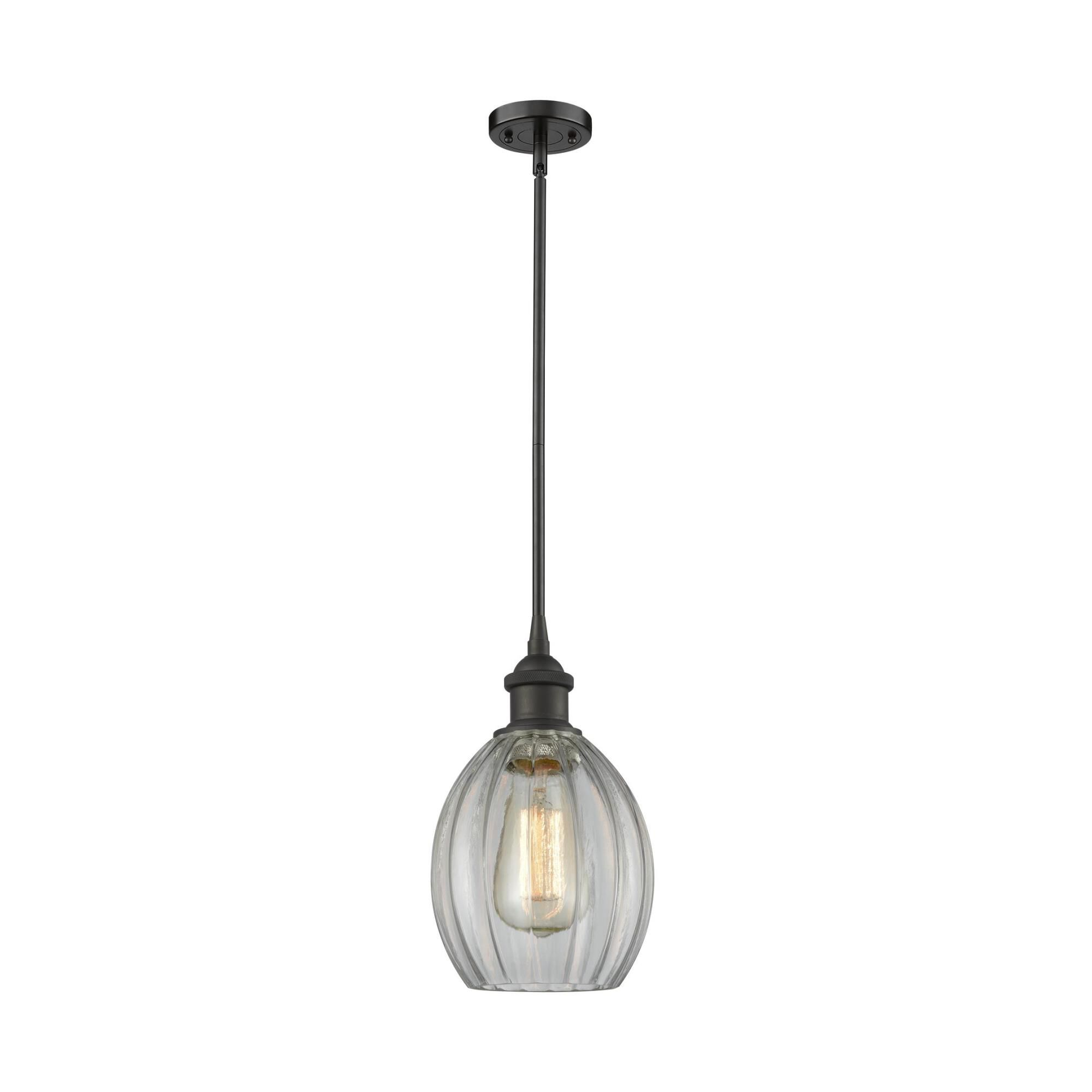 Innovations Lighting Bruno Marashlian Eaton 6 Inch Mini Pendant Eaton - 516-1S-OB-G82 - Restoration-Vintage Mini Pendant