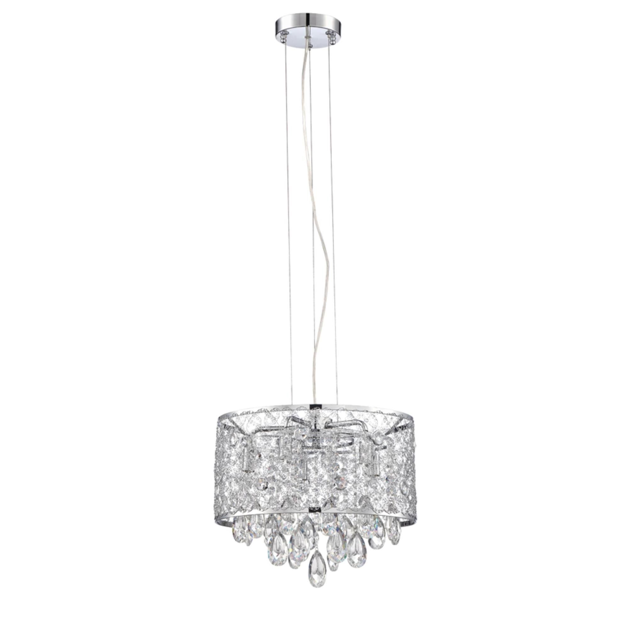 Kendal Lighting Solaro 14 Inch Large Pendant Solaro Pf40 5lcpe Ch Modern Contemporary Shefinds