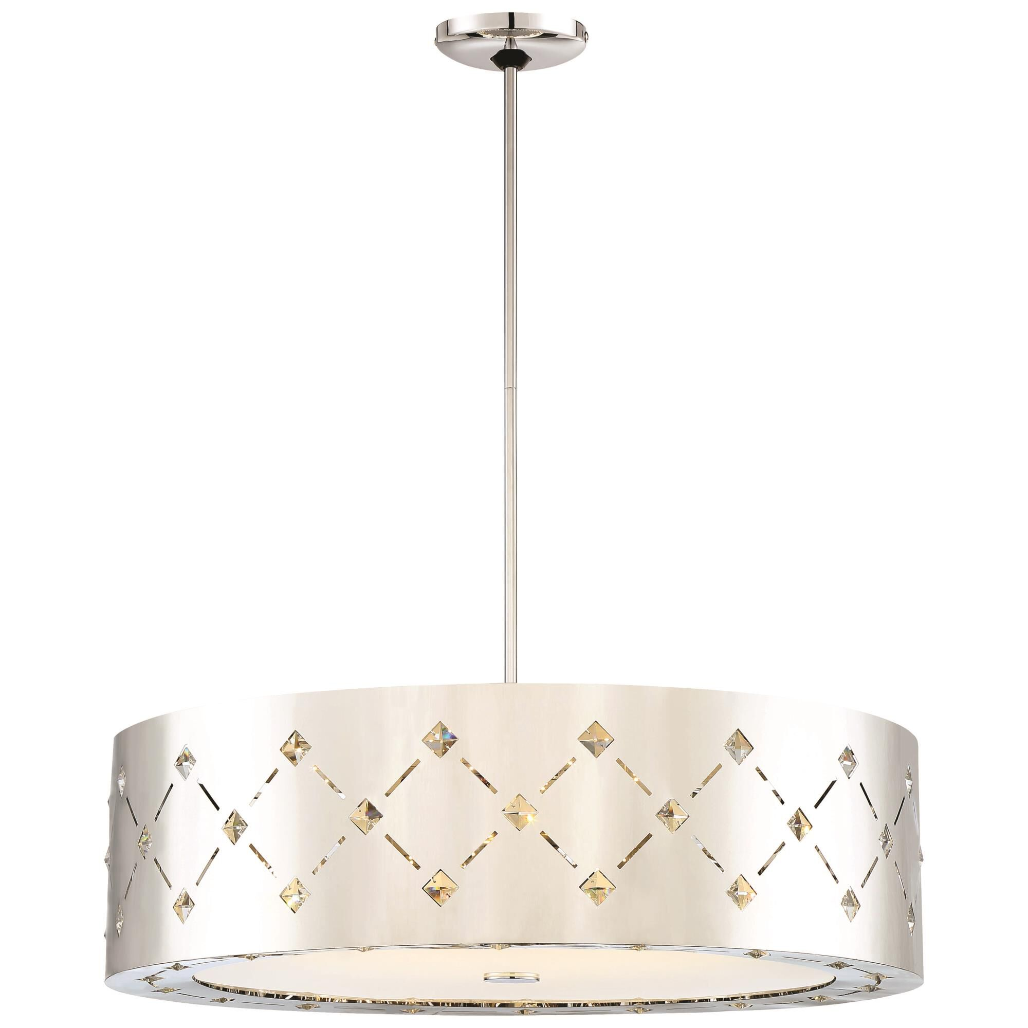 Kovacs Crowned 28 Inch Led Large Pendant Crowned - P1035-077-l