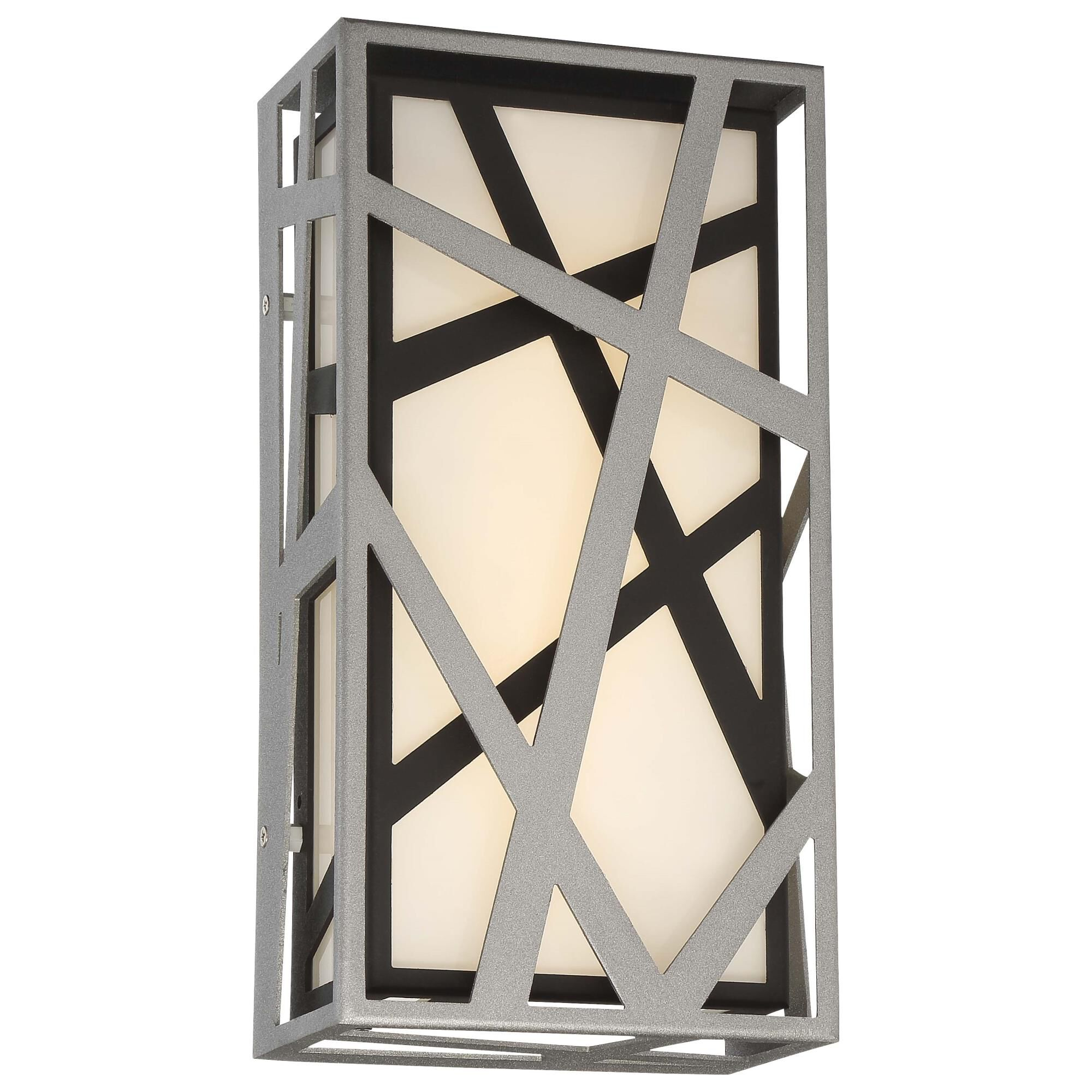 Kovacs Duvera 13 Inch Tall 1 Light Led Outdoor Wall Light Duvera - P1147-658-l - Modern Contemporary