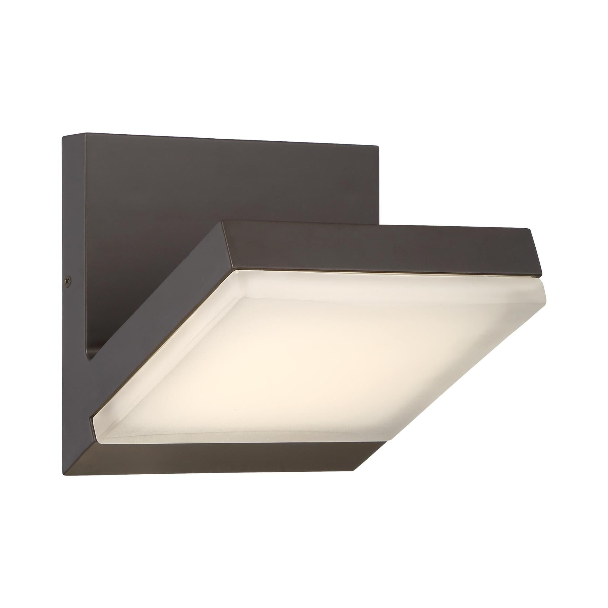 Kovacs Angle 6 Inch Tall 1 Light Led Outdoor Wall Light Angle - P1259-143-l - Transitional