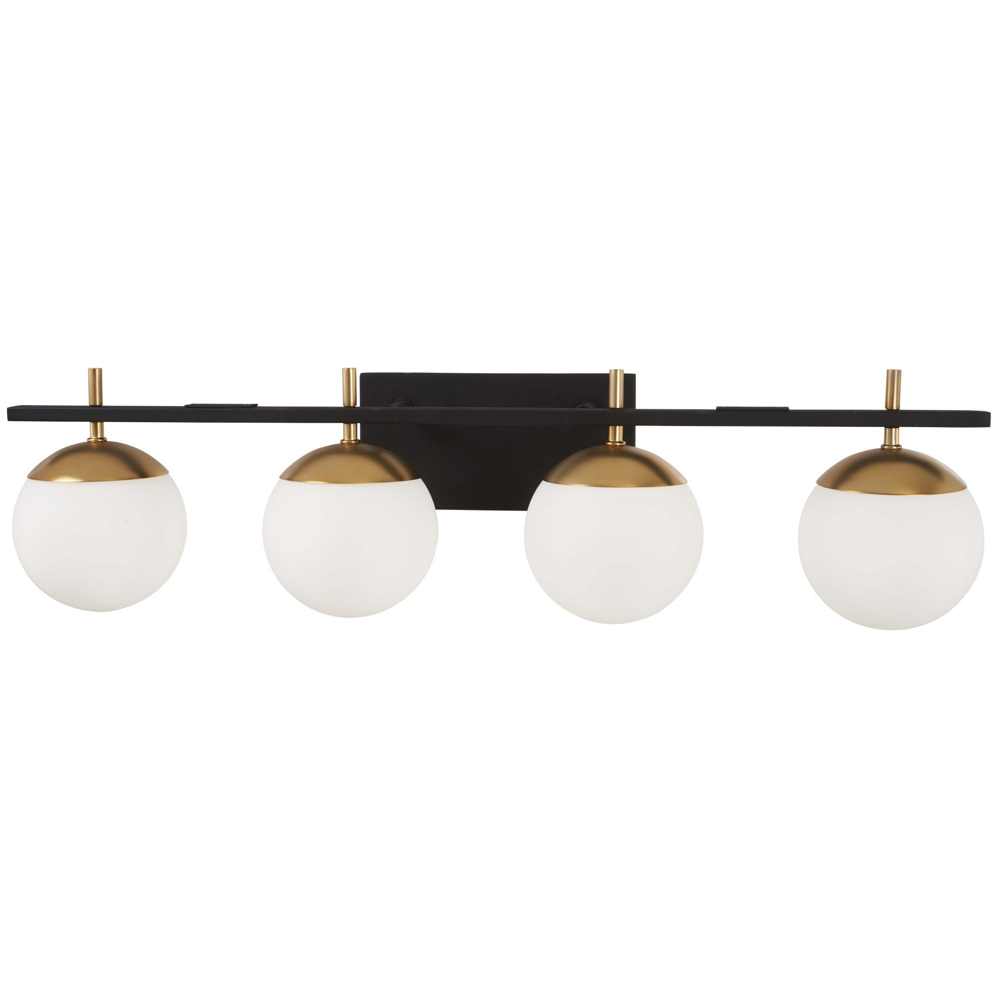 Kovacs Alluria 33 Inch 4 Light Bath Vanity Light Alluria - P1354-618 - Transitional