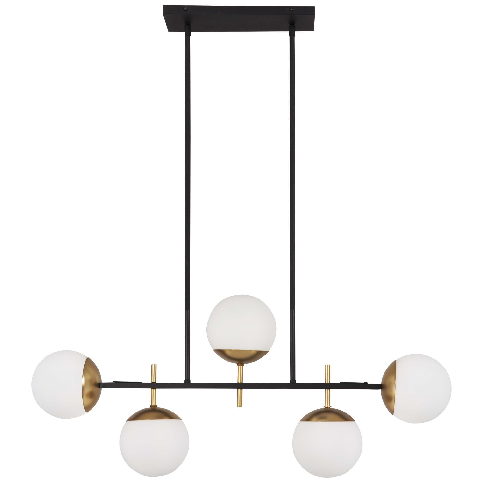 Kovacs Alluria 6 Inch 5 Light Linear Suspension Light Alluria - P1355-618 - Transitional
