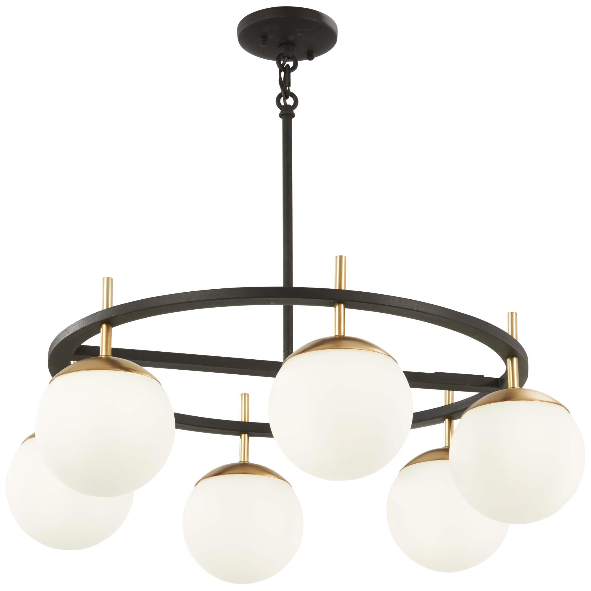 Kovacs Alluria 27 Inch 6 Light Multi Light Pendant Alluria - P1356-618 - Transitional