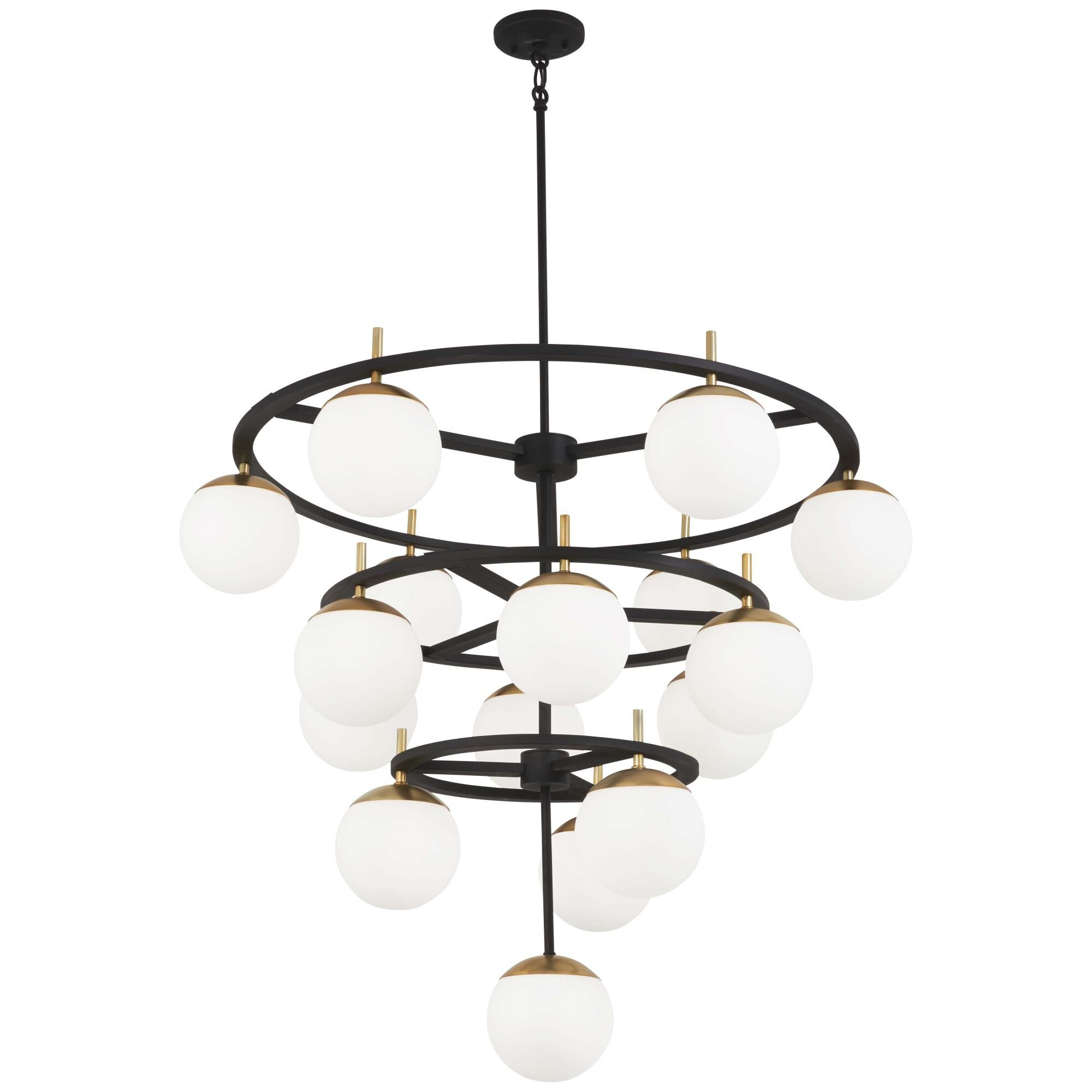 Kovacs Alluria 36 Inch 16 Light Chandelier Alluria - P1359-618 - Transitional