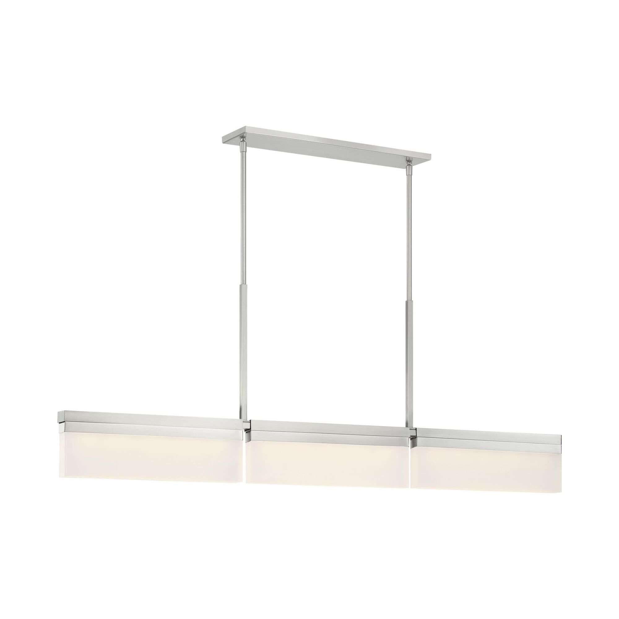 Kovacs Skinny 50 Inch 3 Light Led Linear Suspension Light Skinny - P1724-084-l - Transitional