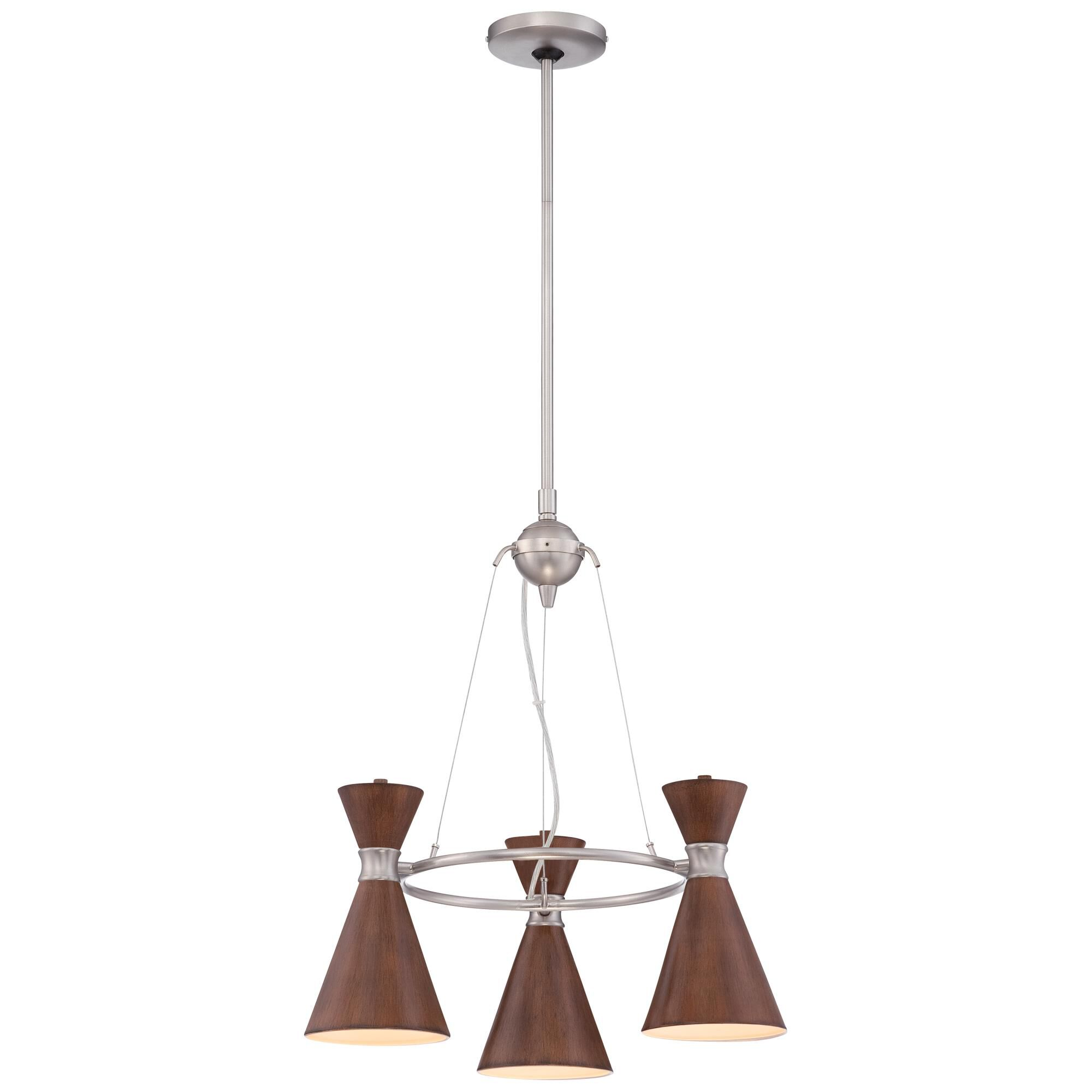 Kovacs Conic 20 Inch 3 Light Mini Chandelier Conic - P1823-651 - Transitional