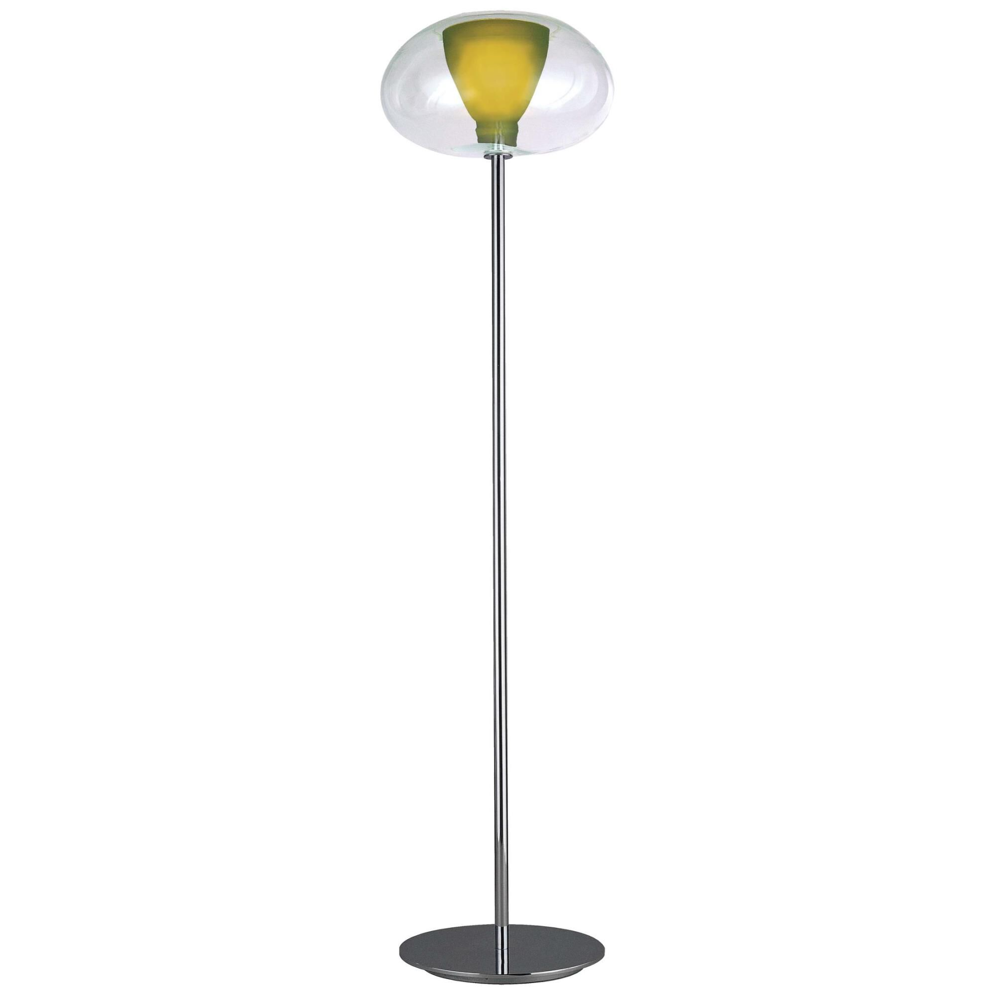 Kovacs Soft 68 Inch Torchiere Lamp Soft - P3806-077 - Blown Glass