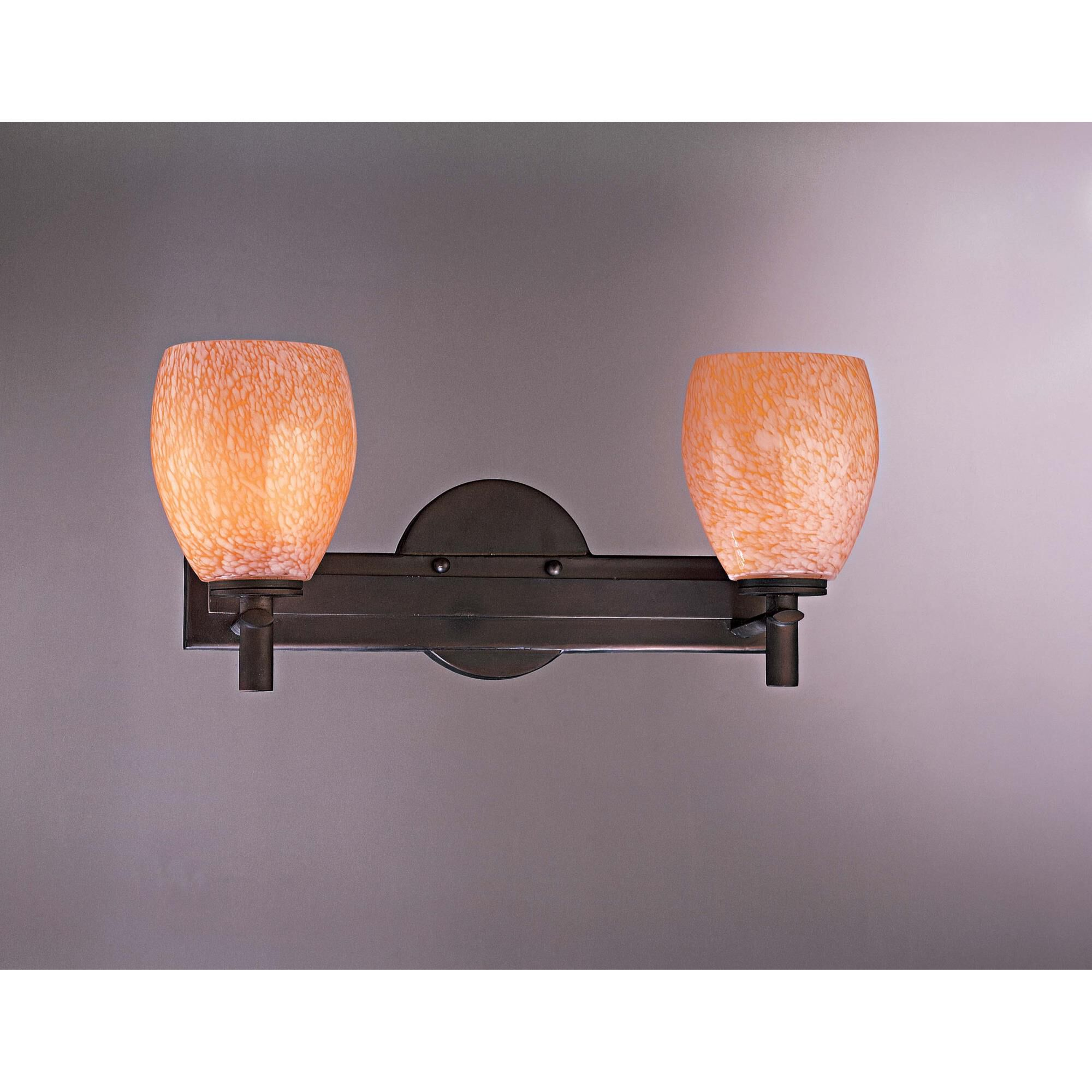 Kovacs 17 Inch 2 Light Bath Vanity Light - P5112-617 - Craftsman-mission
