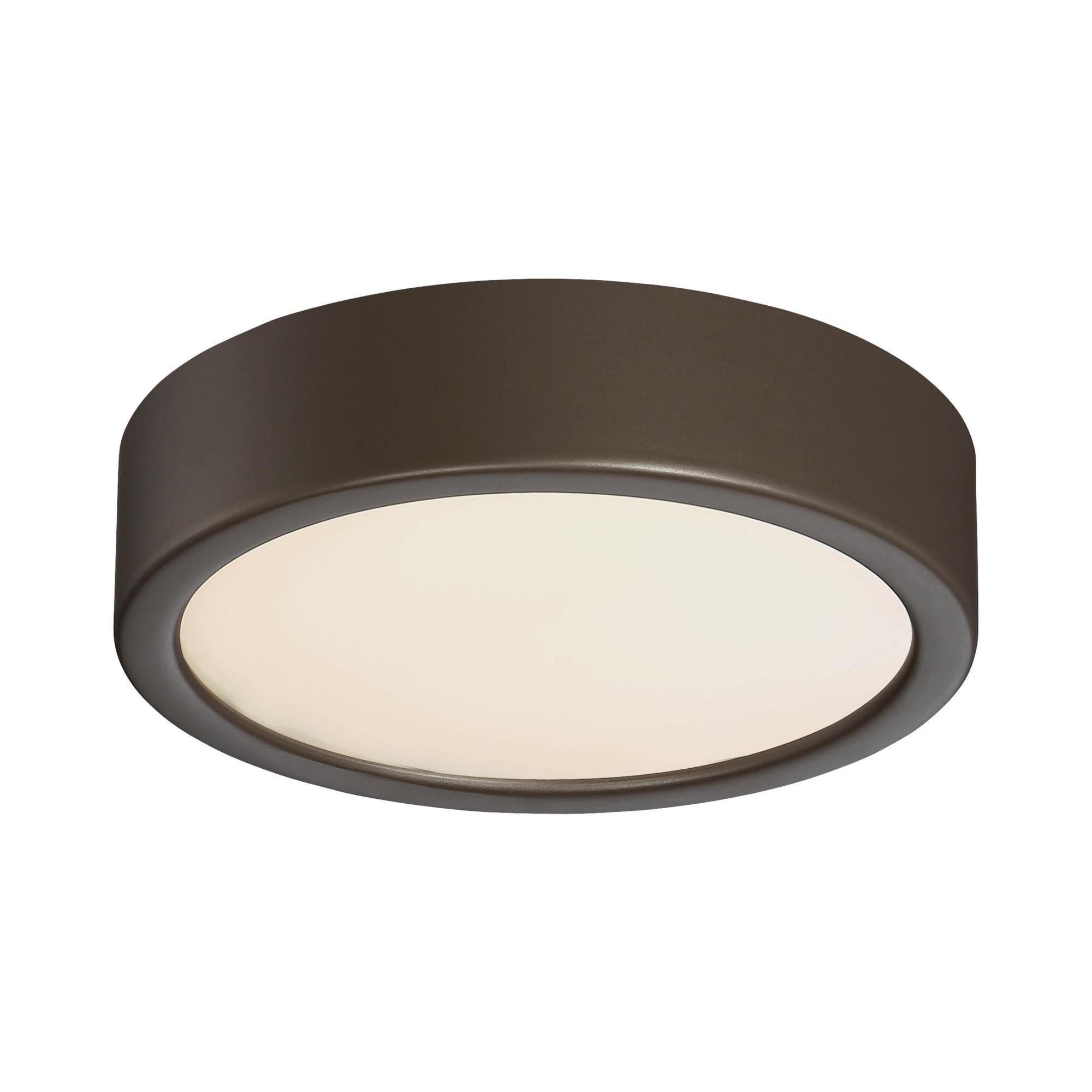 Kovacs 6 Inch 1 Light Led Flush Mount - P840-647b-l - Transitional