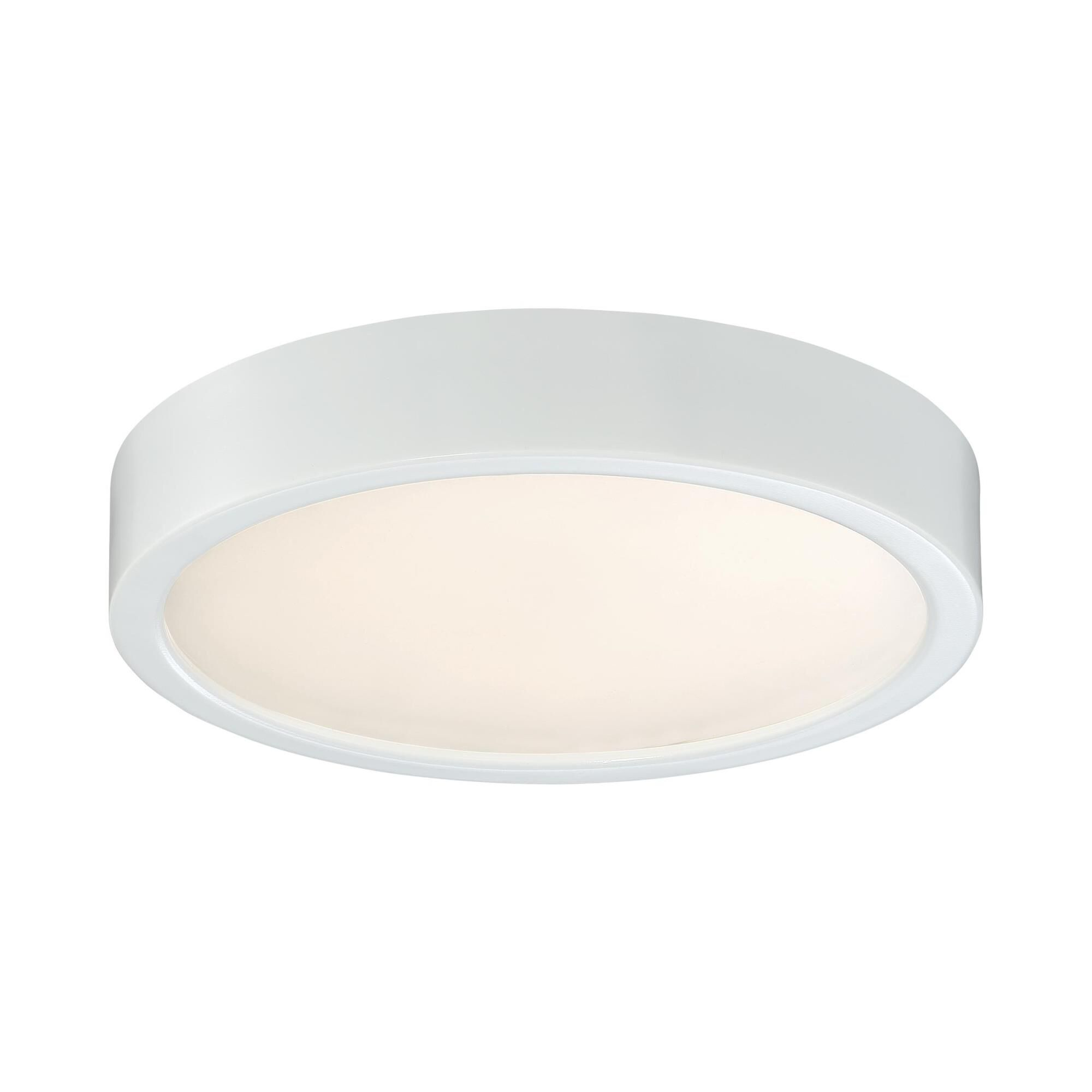Kovacs 8 Inch 1 Light Led Flush Mount - P841-044-l - Transitional