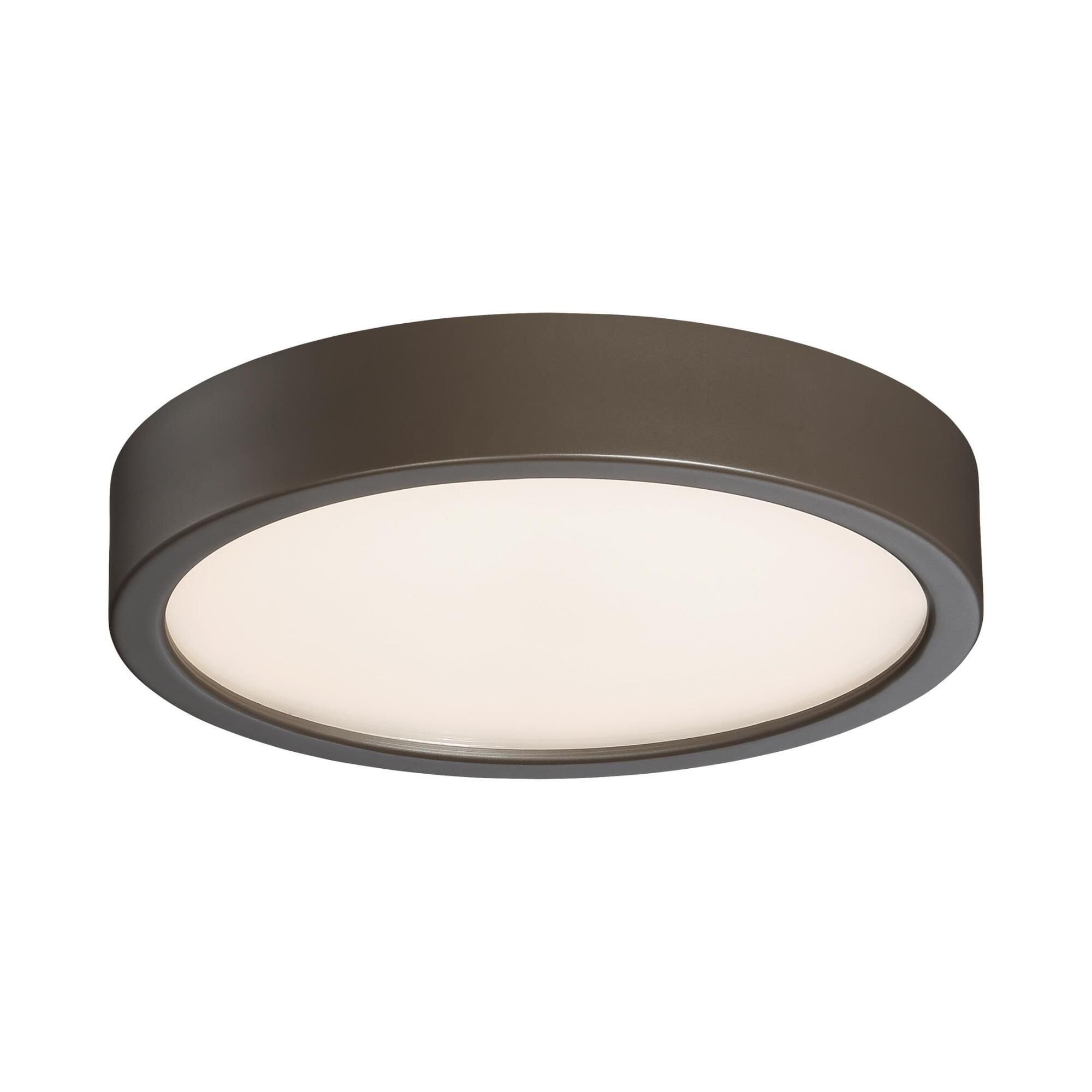Kovacs 8 Inch 1 Light Led Flush Mount - P841-647b-l - Transitional