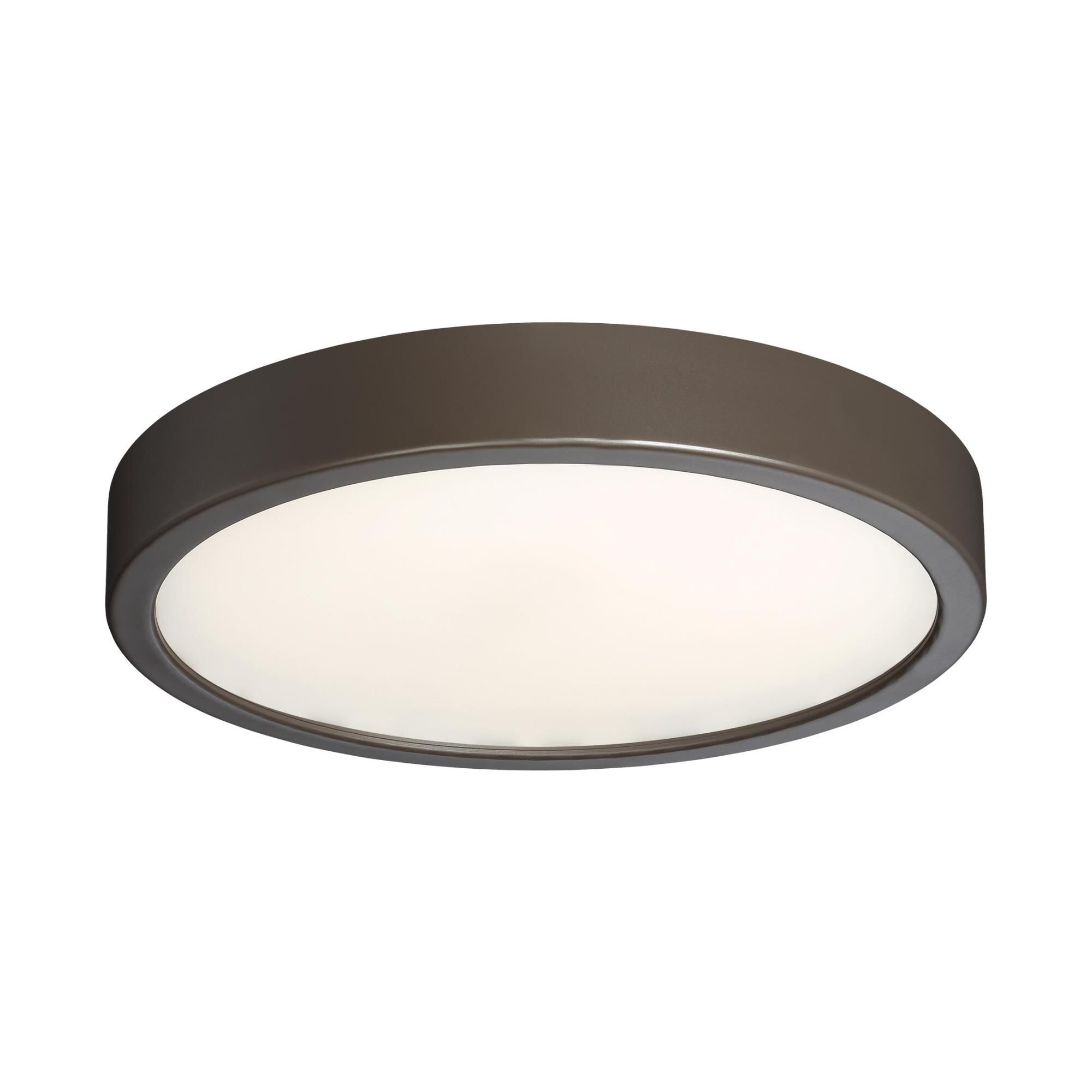 Kovacs 10 Inch 1 Light Led Flush Mount - P842-647b-l - Transitional