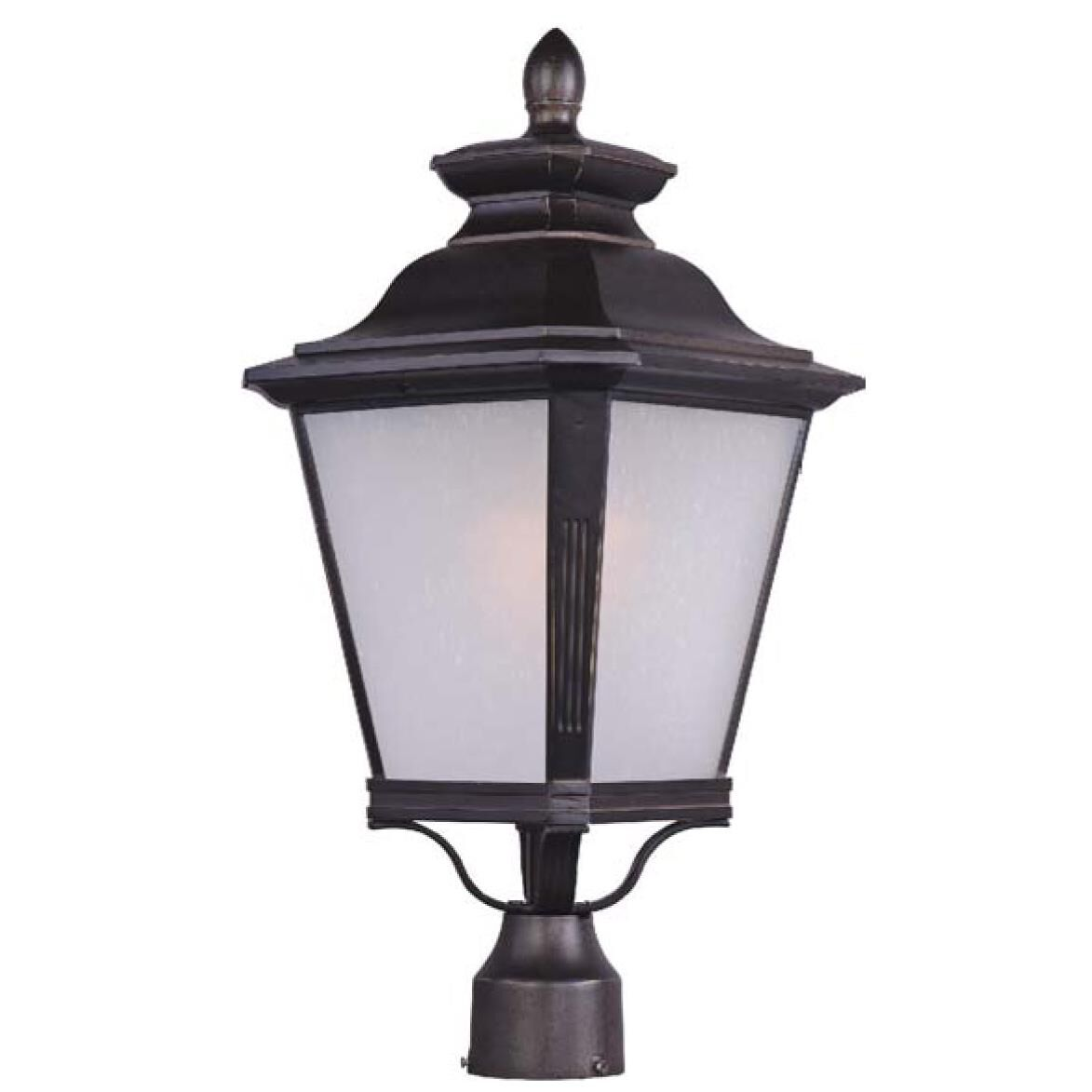 Maxim Lighting Knoxville 23 Inch Tall 1 Light Outdoor Post Lamp Knoxville - 1121FSBZ
