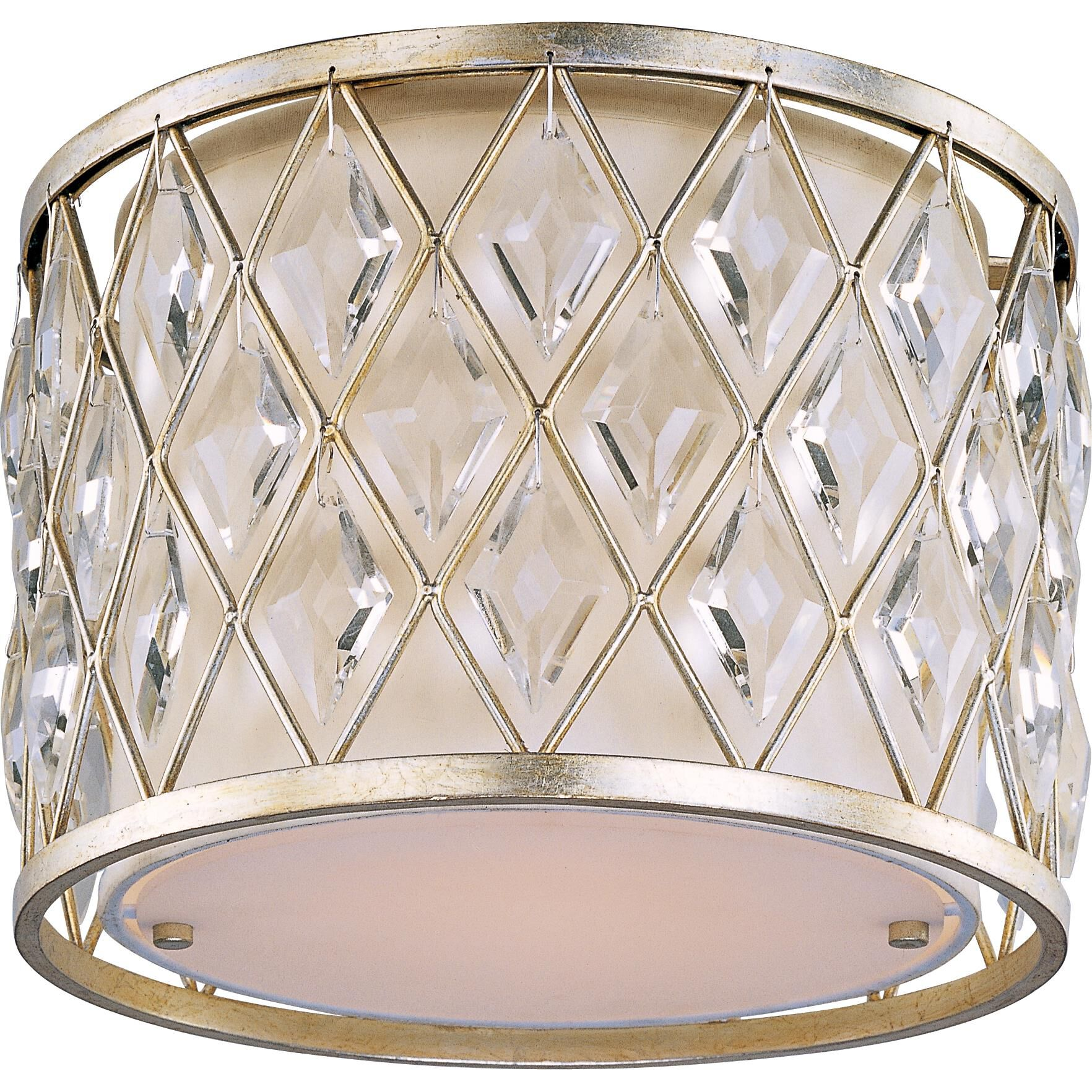 Maxim Lighting Diamond 12 Inch 1 Light Flush Mount Diamond - 21451OFGS Flush Mount