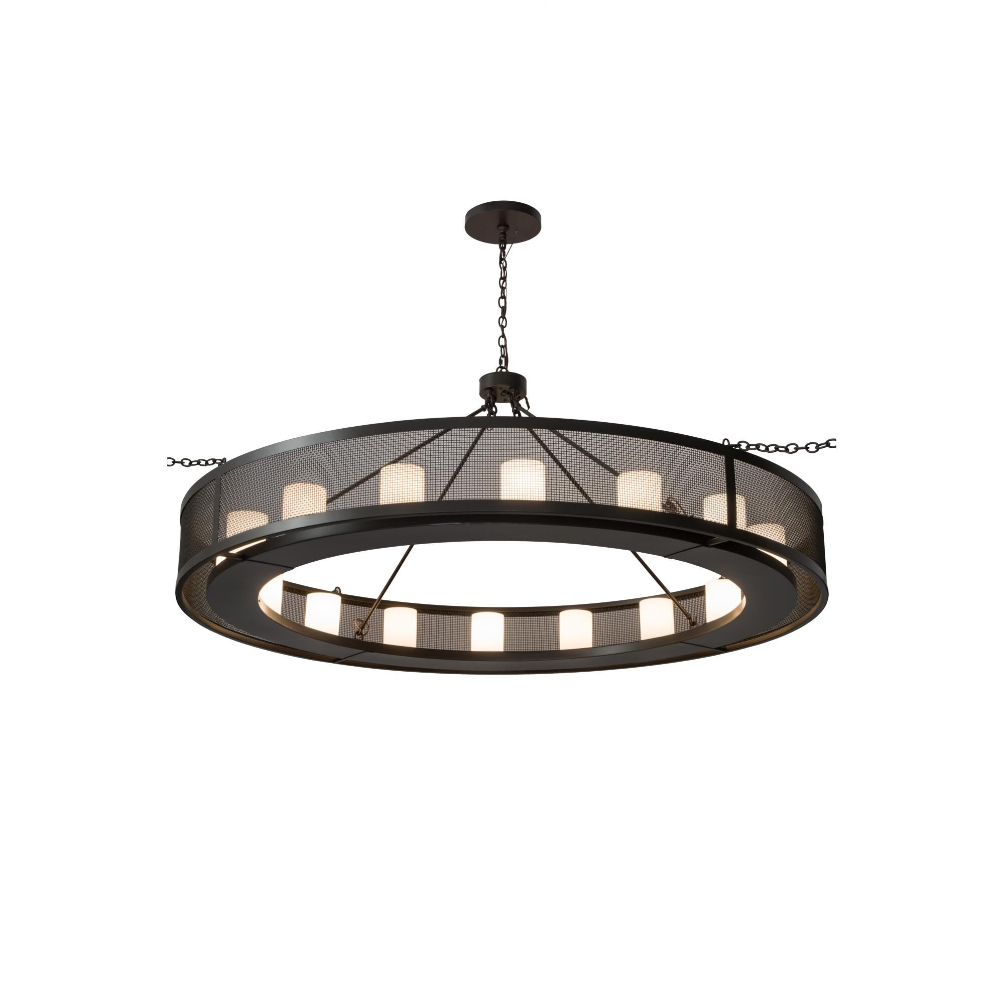 2nd Avenue Design Loxley 78 Inch 16 Light LED Chandelier Loxley 48259 879SWAY