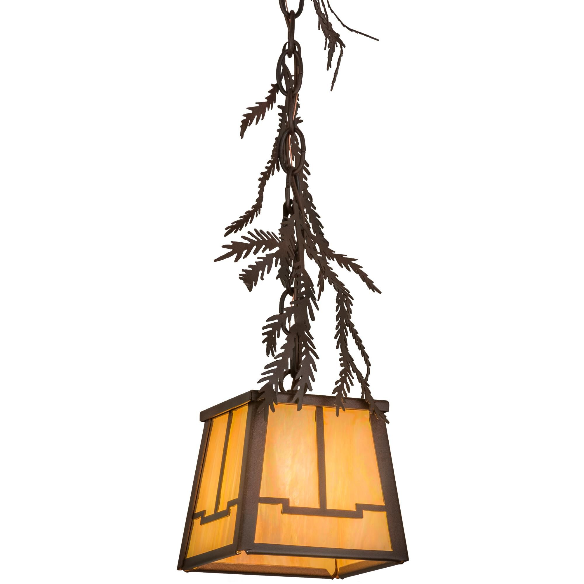 Pine Branch Valley View 8 Inch Mini Pendant Capitol Lighting