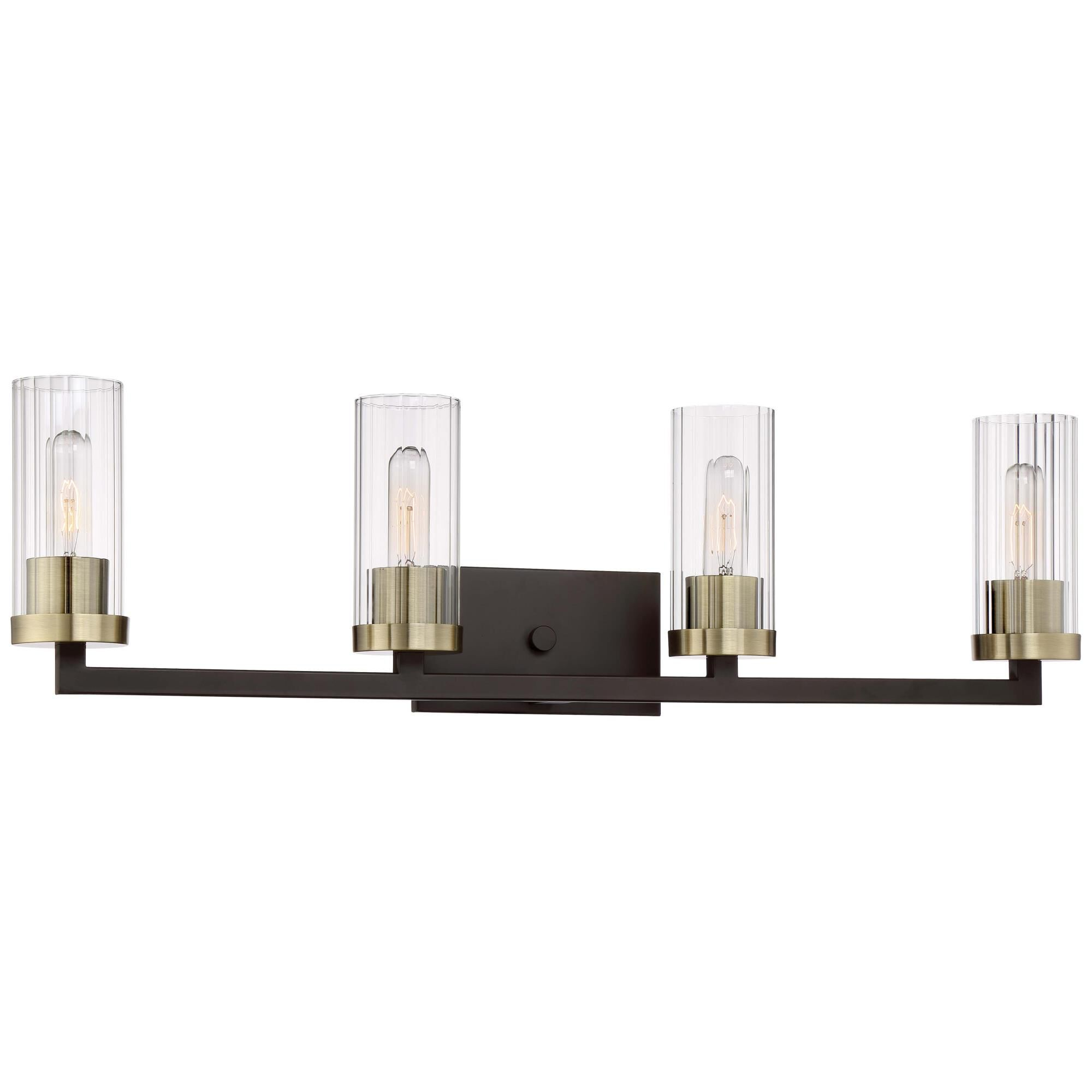 Minka Lavery Ainsley Court 32 Inch 4 Light Bath Vanity Light Ainsley Court - 3044-560 - Restoration-vintage Bath Vanity Light