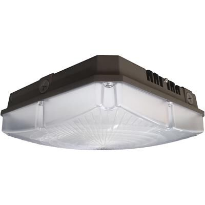 Nuvo Lighting 8 Inch 1 Light LED Outdoor Flush Mount - 65/138 - Transitional Outdoor Flush Mount