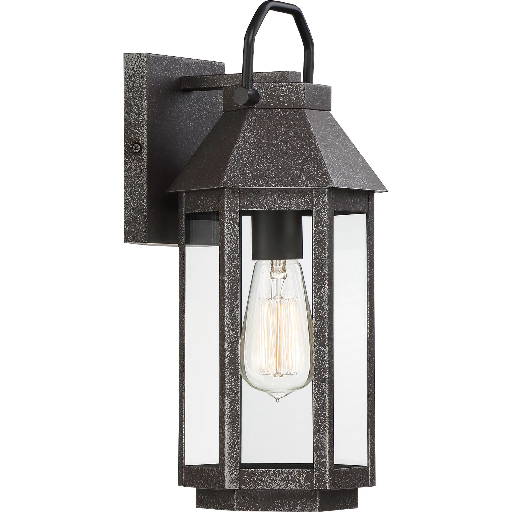 Quoizel Campbell 14 Inch Tall 1 Light Outdoor Wall Light Campbell - Cpb8407spb - Traditional