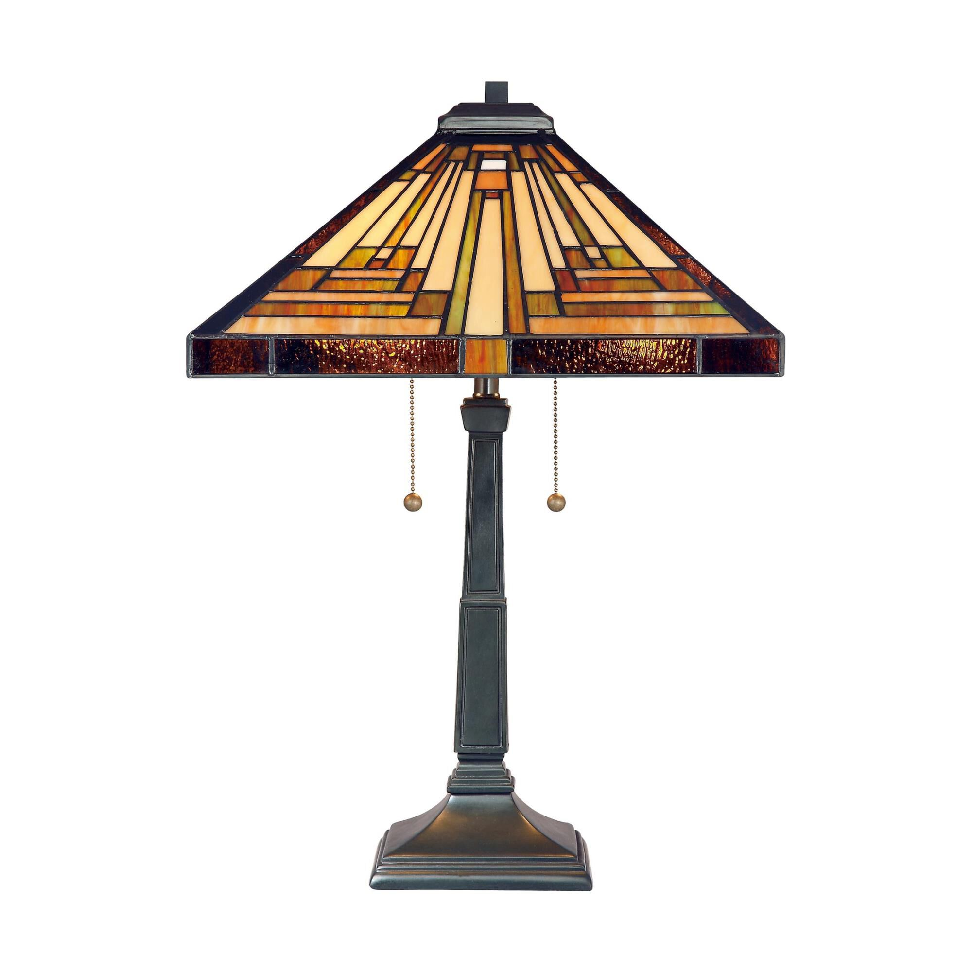 Quoizel Stephen 23 Inch Table Lamp Stephen - TF885T - Tiffany Glass