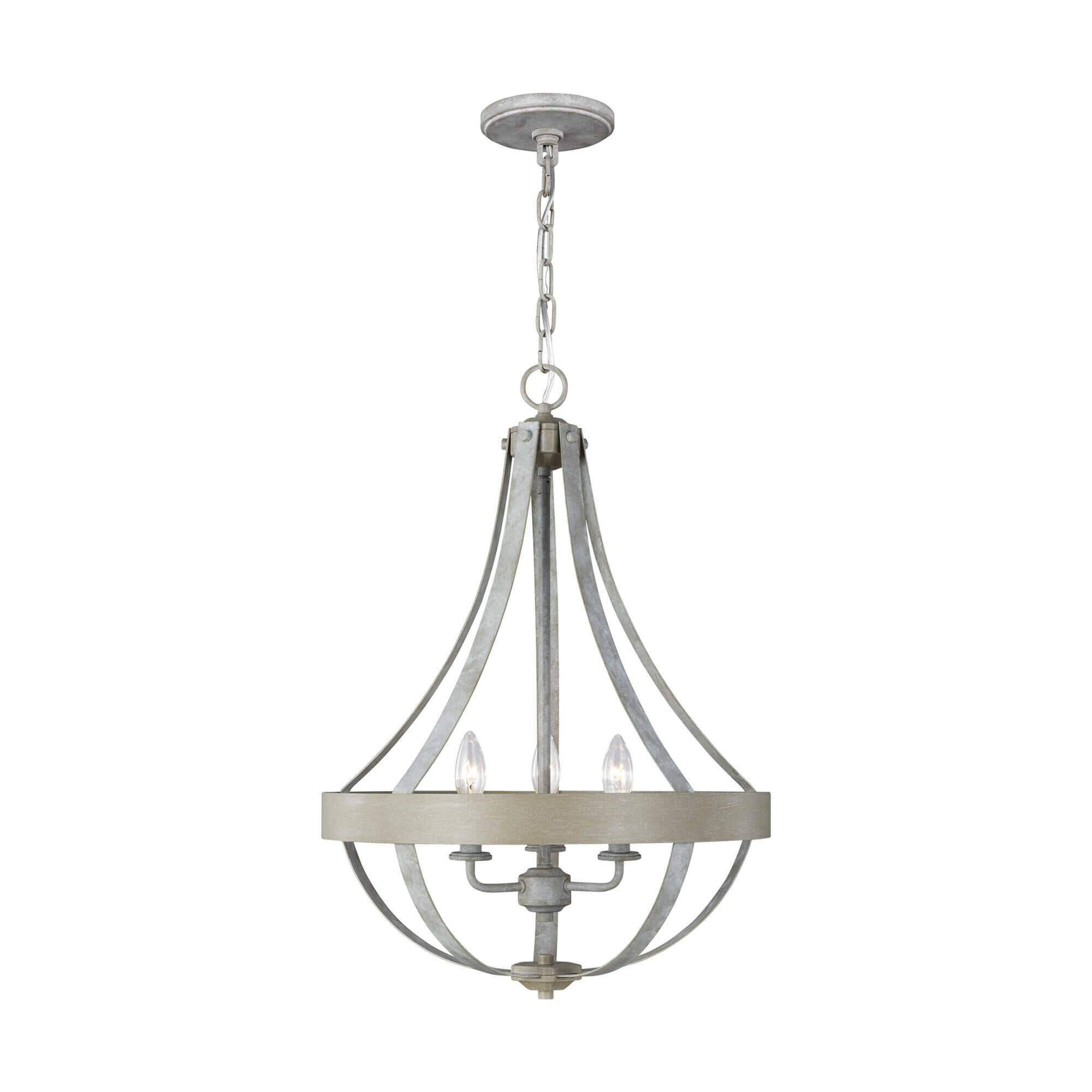 Sea Gull Lighting® Oslo Five Light Chandelier Chrome 9.5