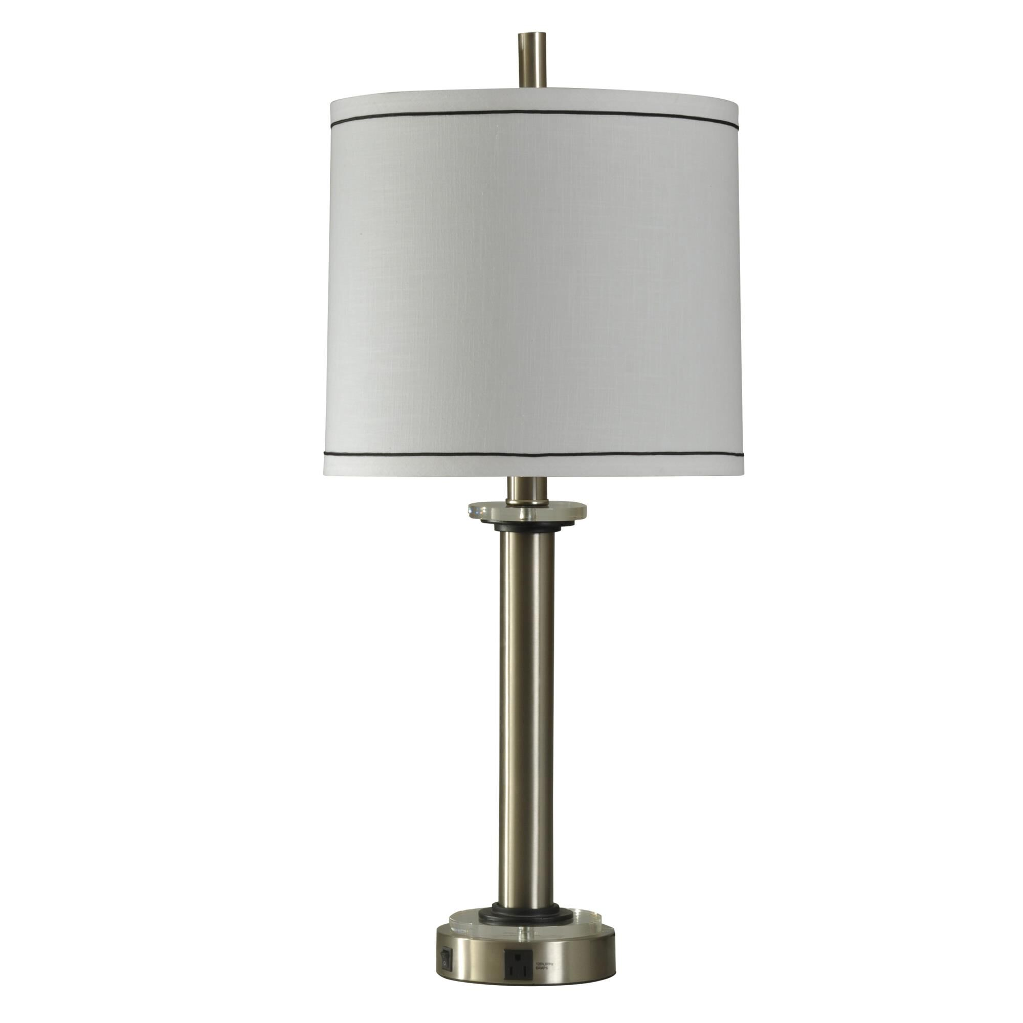 Stylecraft Levi 34 Inch Table Lamp Levi - TL310236BWDS - Transitional