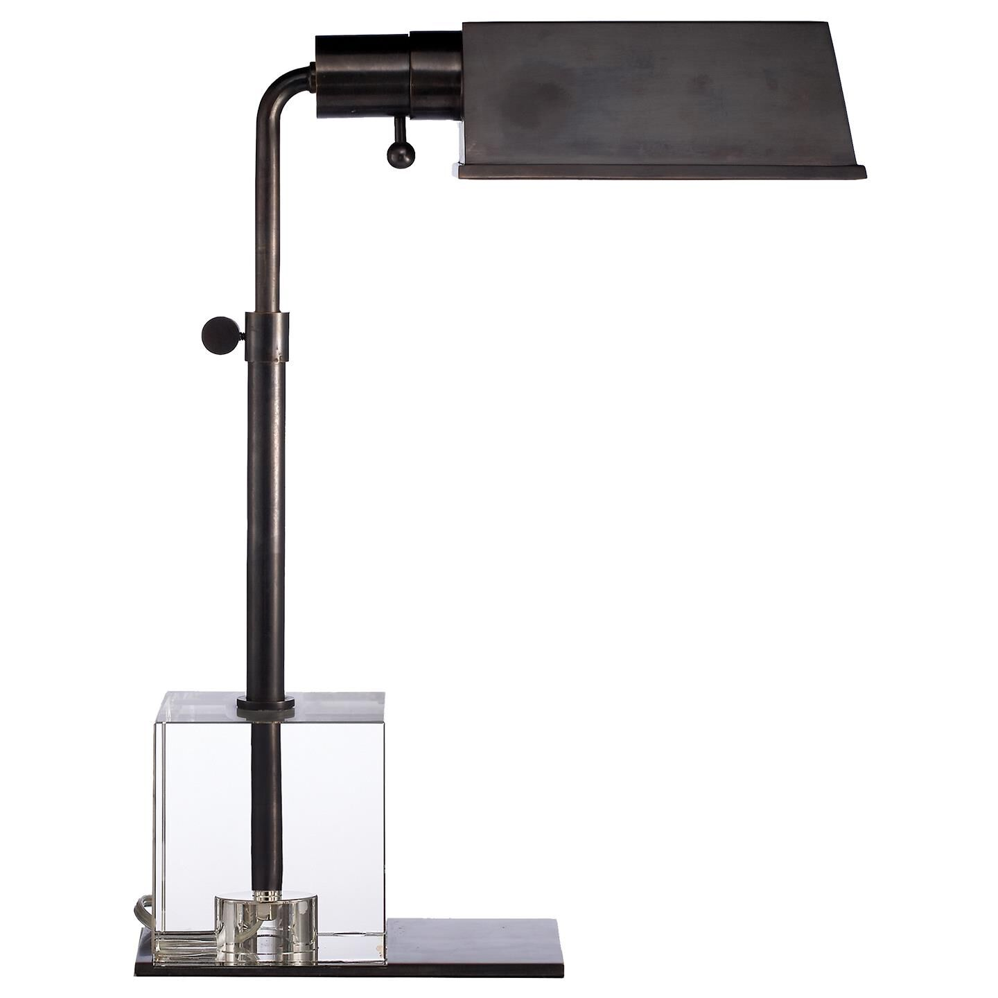 Visual Comfort and Co. Thomas O'Brien Jennings Pharmacy 16 Inch Desk Lamp Jennings Pharmacy - TOB 3725BZ - Transitional Desk Lamp