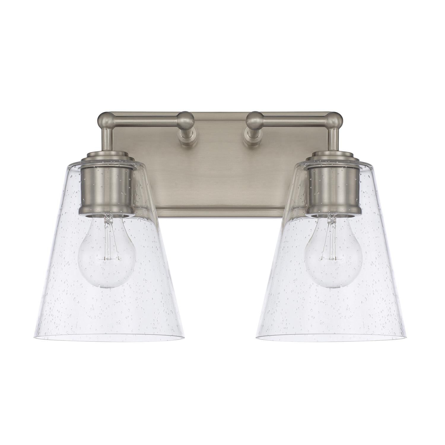 Capital Lighting Fixture Company 14 Inch 2 Light Bath Vanity Light - 121721bn-463 - Transitional