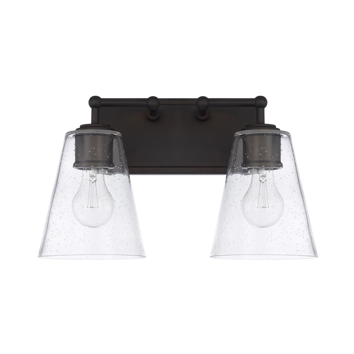 Capital Lighting Fixture Company 14 Inch 2 Light Bath Vanity Light - 121721ob-463 - Transitional
