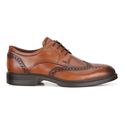 ECCO Men's Lisbon Brogue Tie Oxford Shoes (Amber)