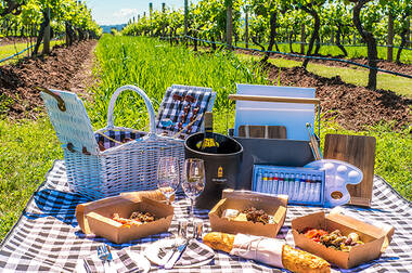 Premium Wine Tasting, Picnic Hamper and Painting Kit