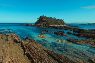 Batemans Bay Marine Park Half Day Kayak Tour