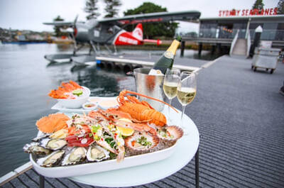 Seaplane Flight over Sydney with Lobster and Bubbly