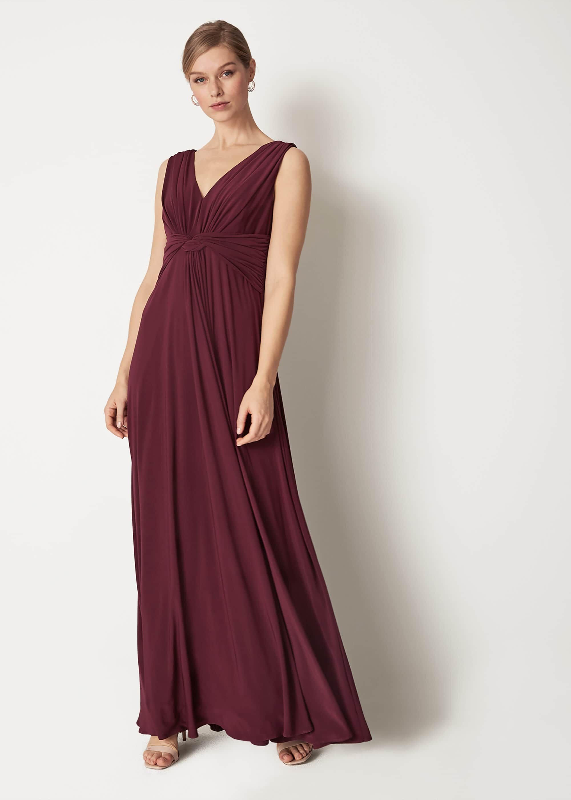 Phase Eight Arabella Maxi Dress, Red, Maxi