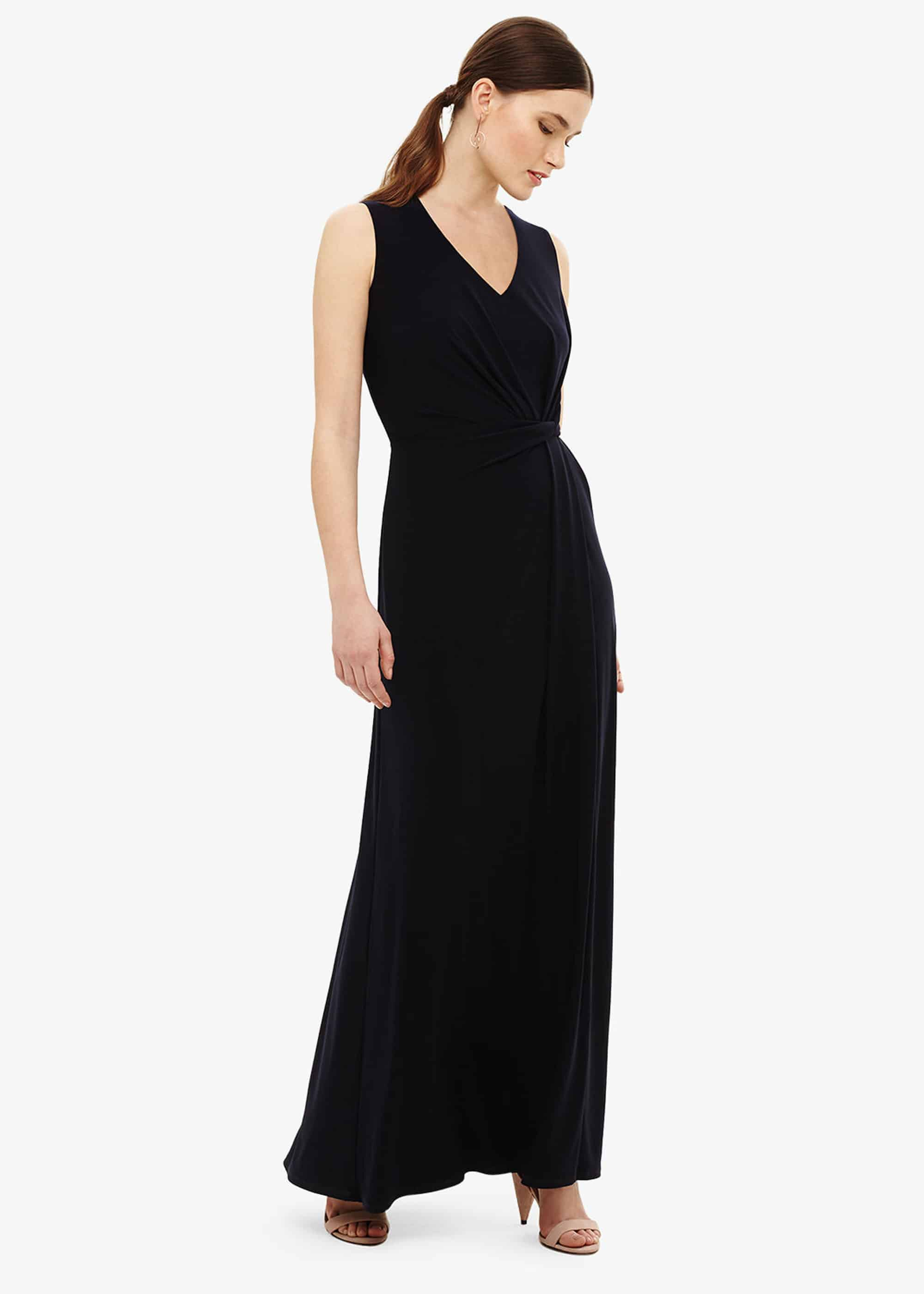 Phase Eight Carrie Jersey Maxi Dress, Blue, Maxi