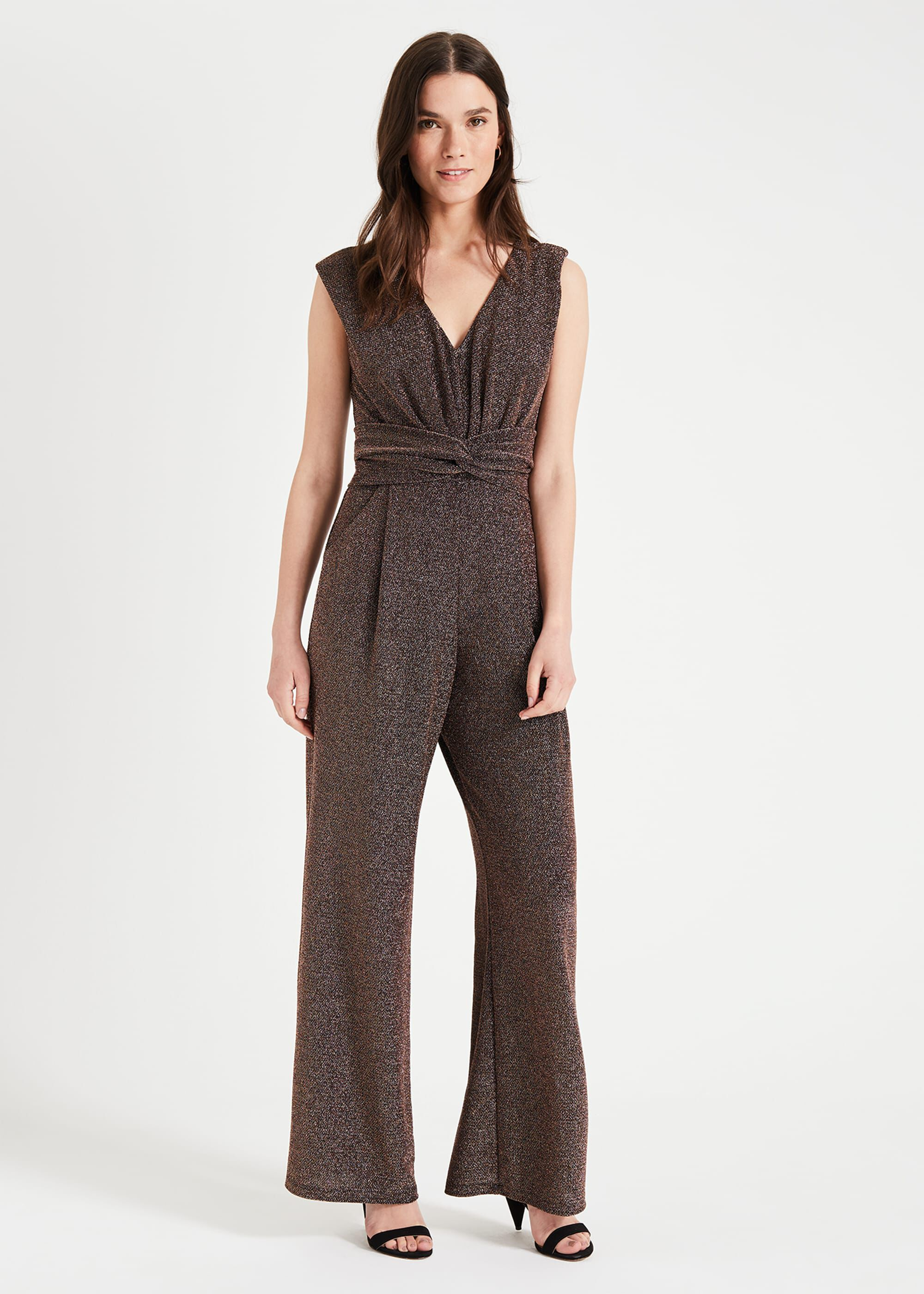 Phase Eight Rena Jumpsuit, Metallic, Jumpsuit
