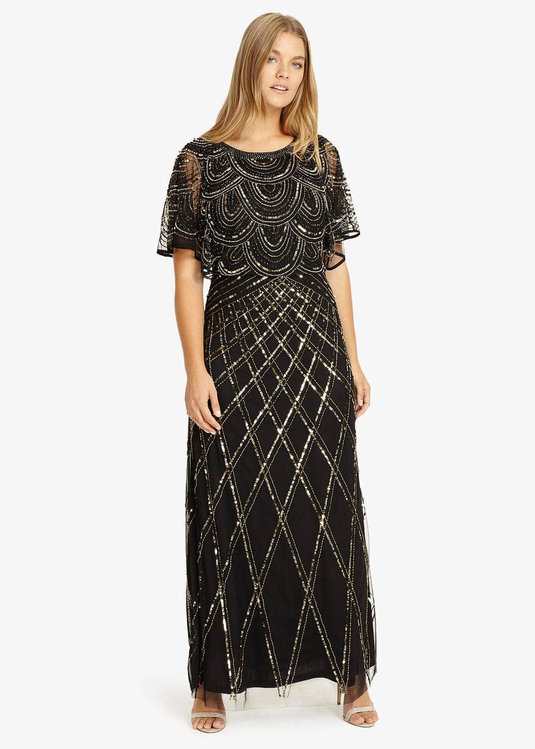 Studio 8 Bella Maxi Dress, Black, Maxi
