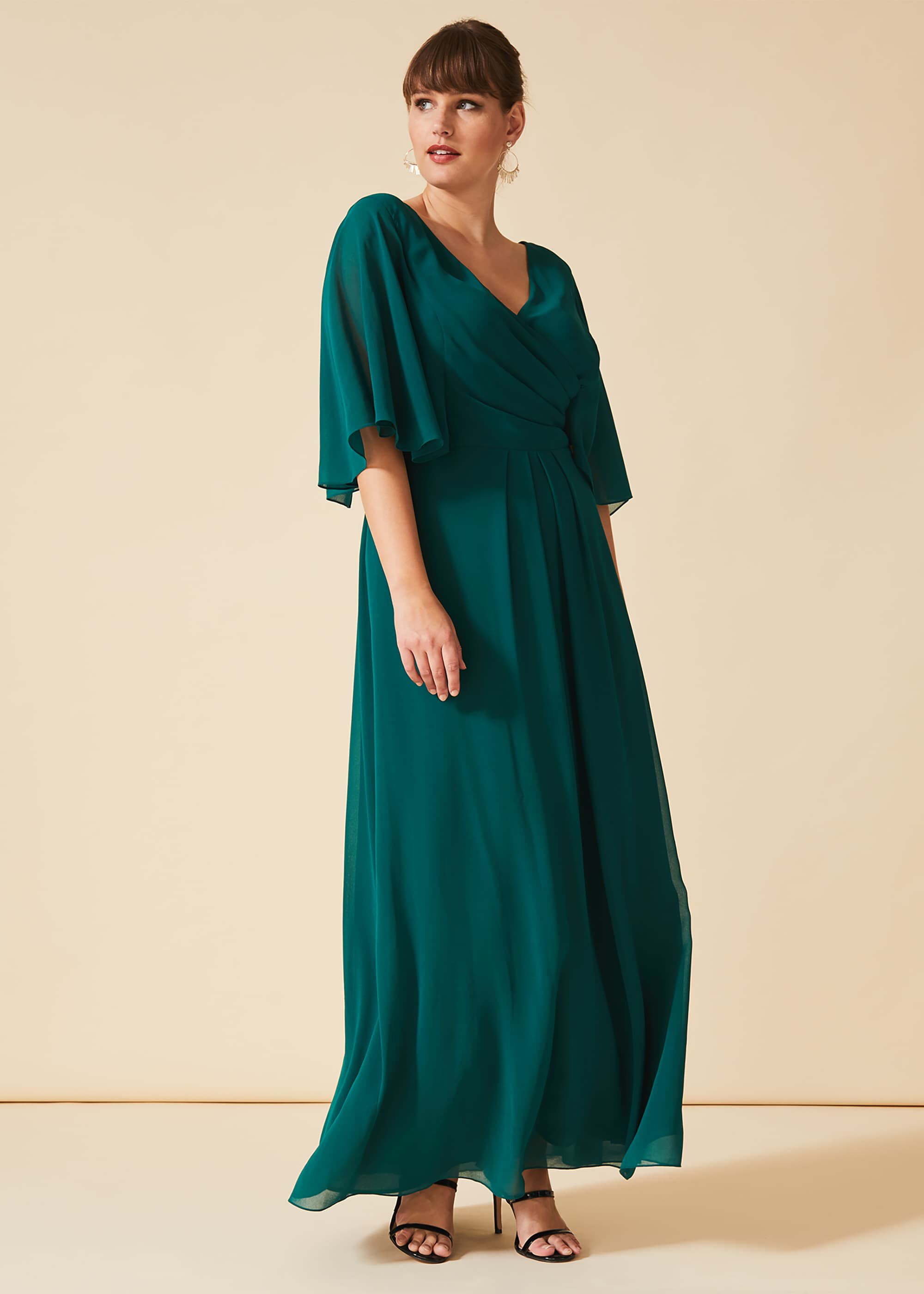 Studio 8 Opal Maxi Bridesmaid Dress, Green, Maxi, Occasion Dress